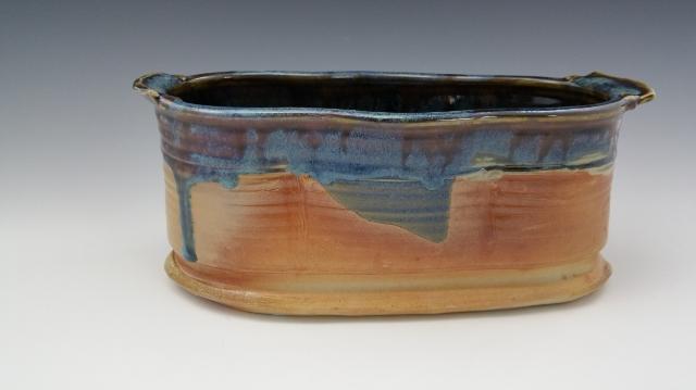 Wood Fired Altered Vase