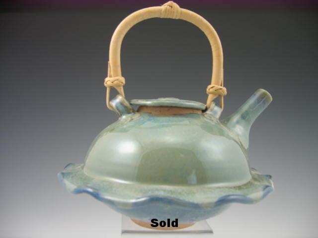 Sage/Lupine Teapot