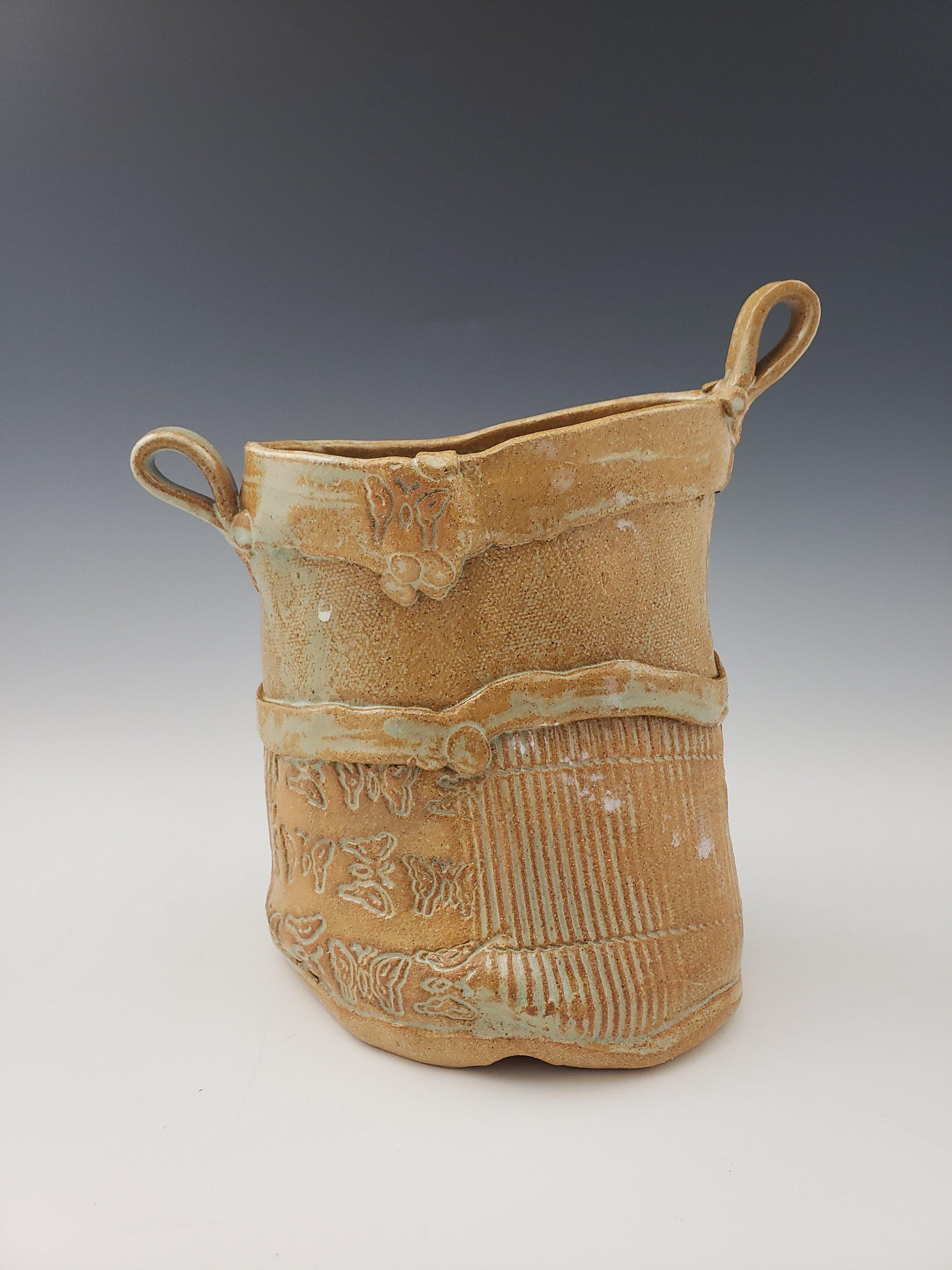 Aqua Vase $48