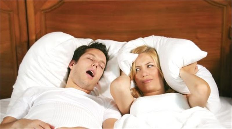 Is snoring driving you apart?