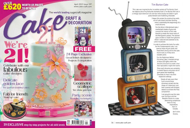 Cake Craft & Decoration UK - April 2015