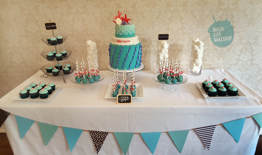 Under the Sea Sweets Table