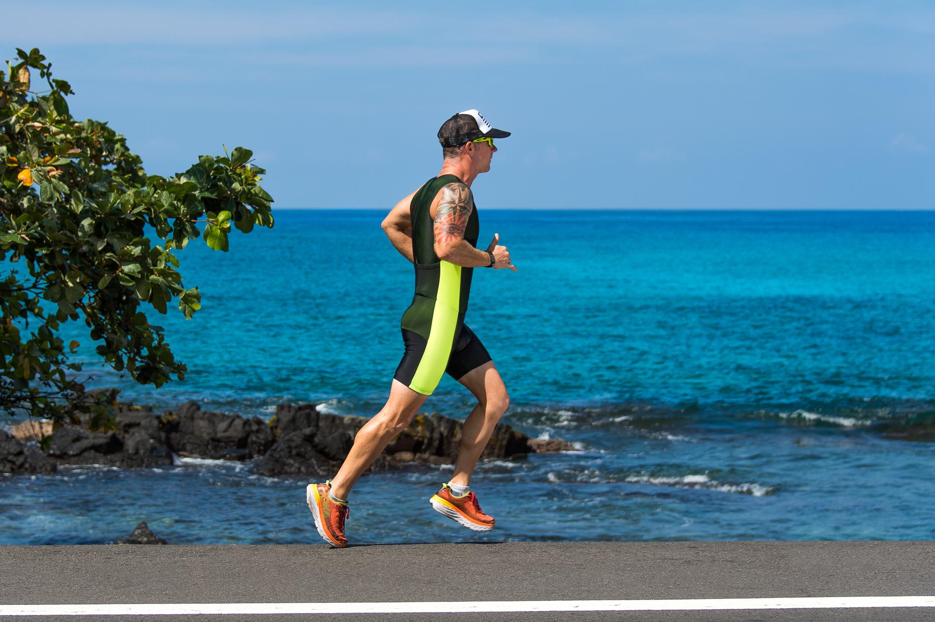 Ironman Triathlon Runner
