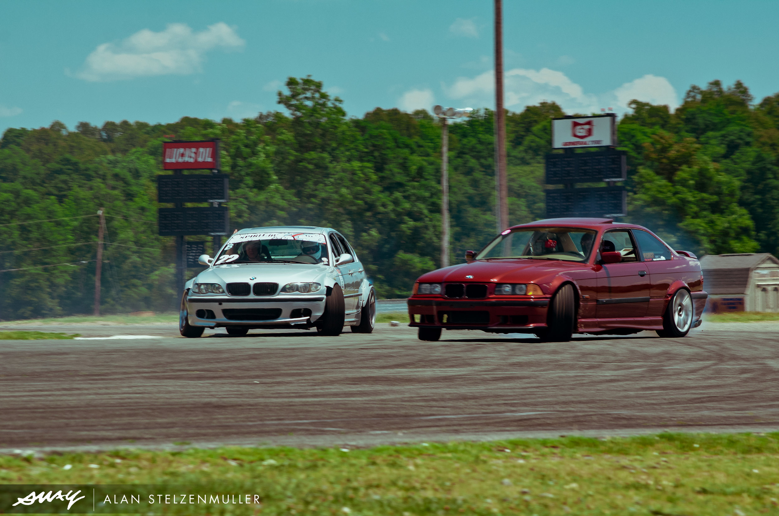 BMW bros battling it out