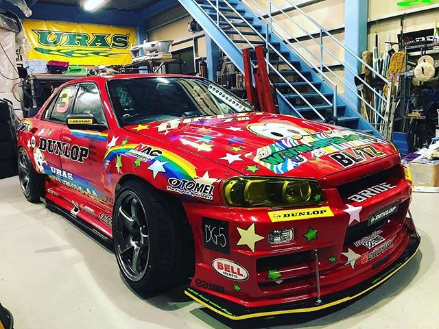 | Who you have sex with does not bother me. The more gay guys out there, the more women there are for me. Well, at least I hope! . . . @keiichibai URAS Legend R34 #R34 #URAS #nissan #d1gp #nomuken #nomukenjr