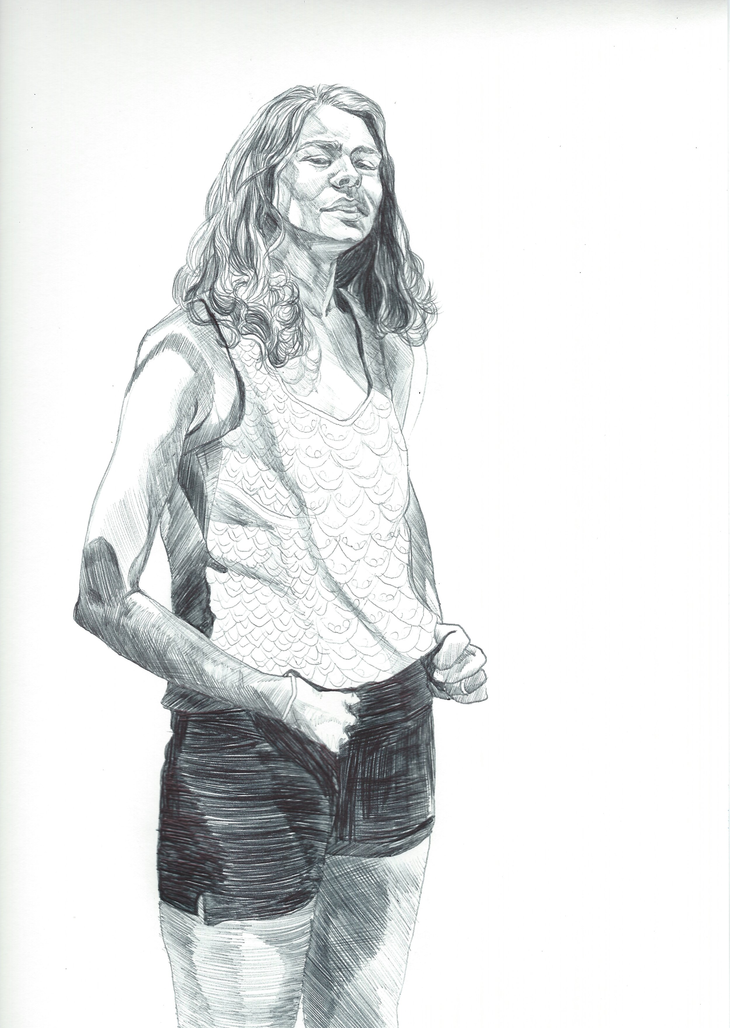 sketch of my sister Nora