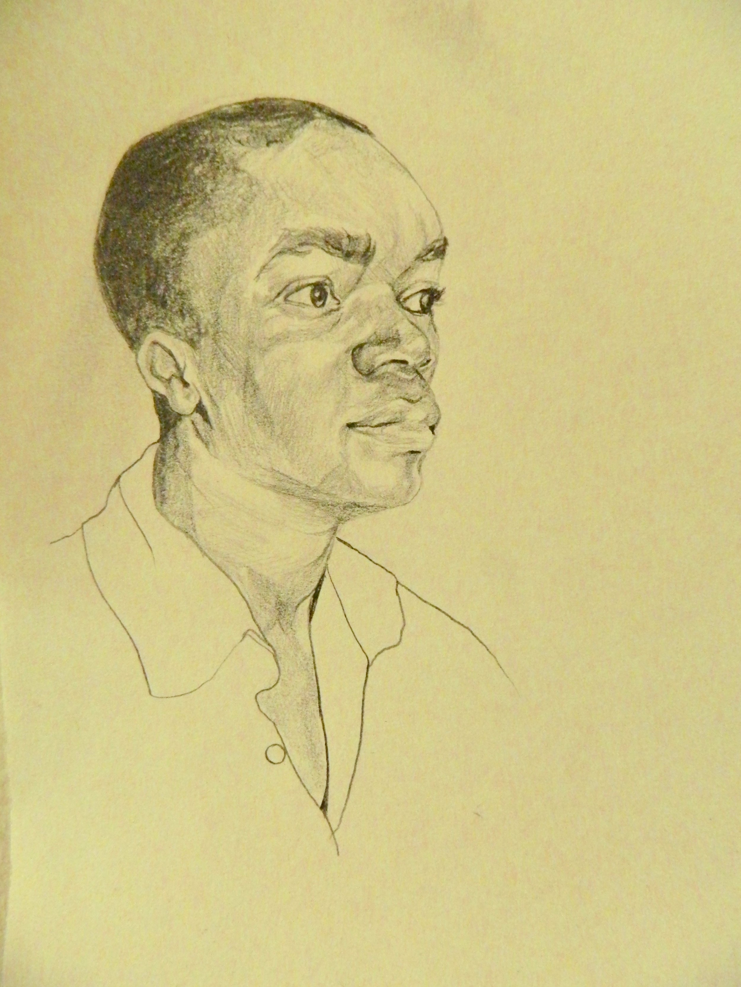 quick portrait of a comrade