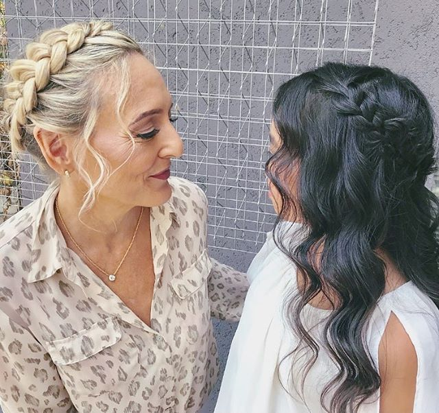 Mother Daughter day date. Hair and makeup by BDB . . . . . #upstyle #updo #hair #goodhair #hairinspo #bdbstudio #danville #walnutcreek #eastbay #bayarea #curls #smooth #ponytail #inspo #hairofig #stylistssupportingstylists #licensedtocreate #modernsalon #inspiration #lifestyle #model #wedding #braids #braidstyles #prettyhair #perfectcurls #hairgoals #hairoftheday #hairlove