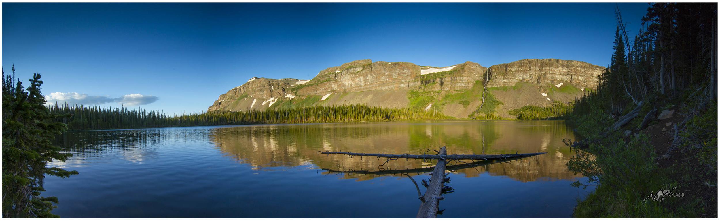 Keener Lake, Flat Tops Wilderness, Colorado