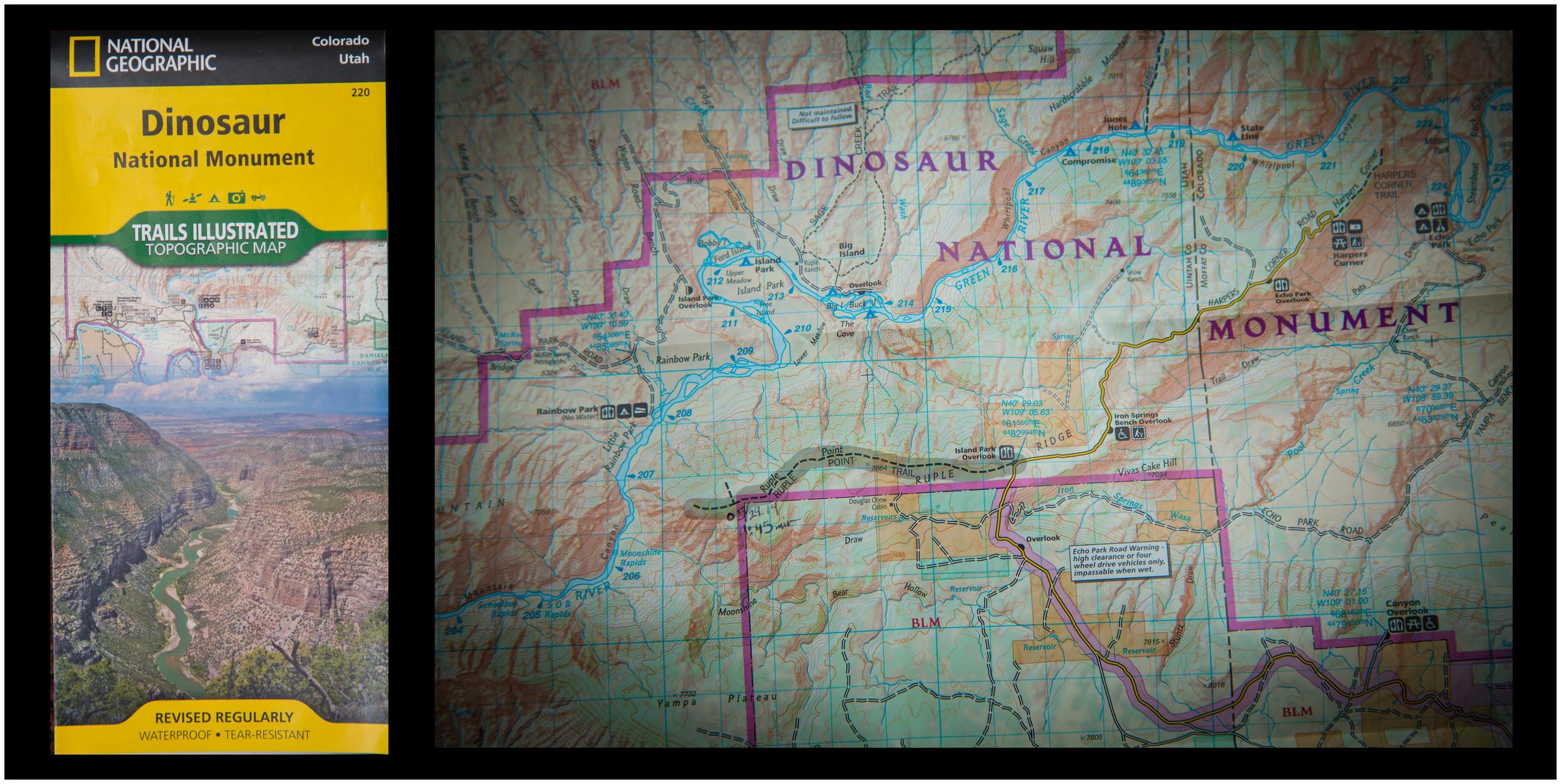 Ruple Point. Dinosaur National Monument