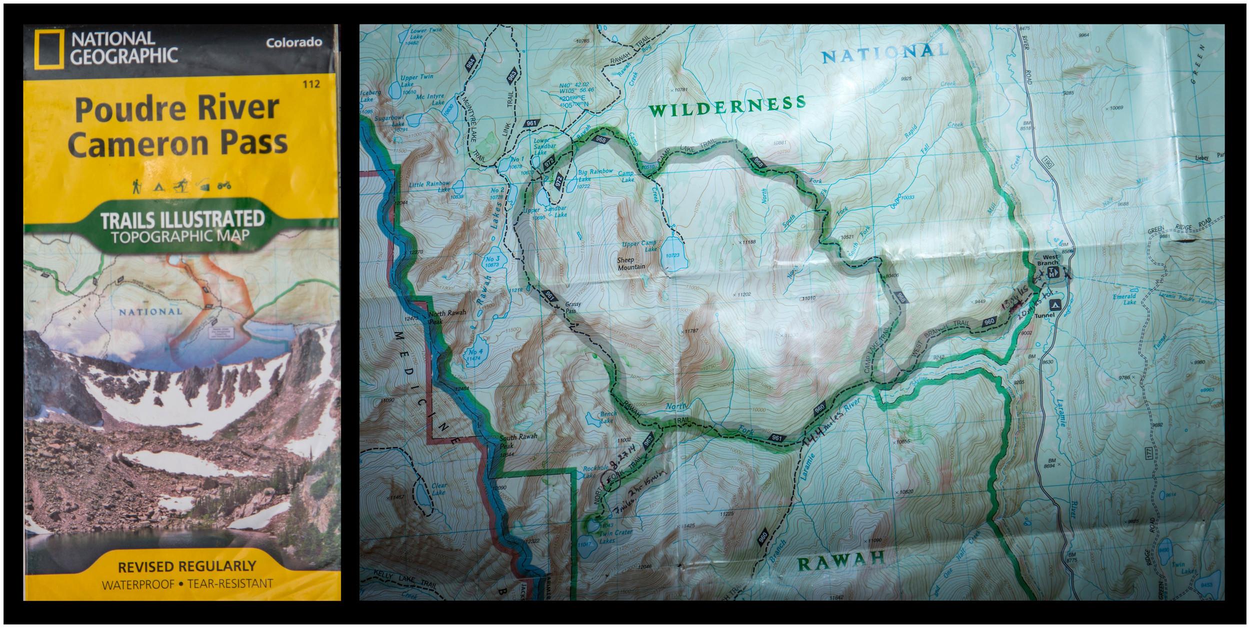 Rawah Wilderness Backpacking Loop