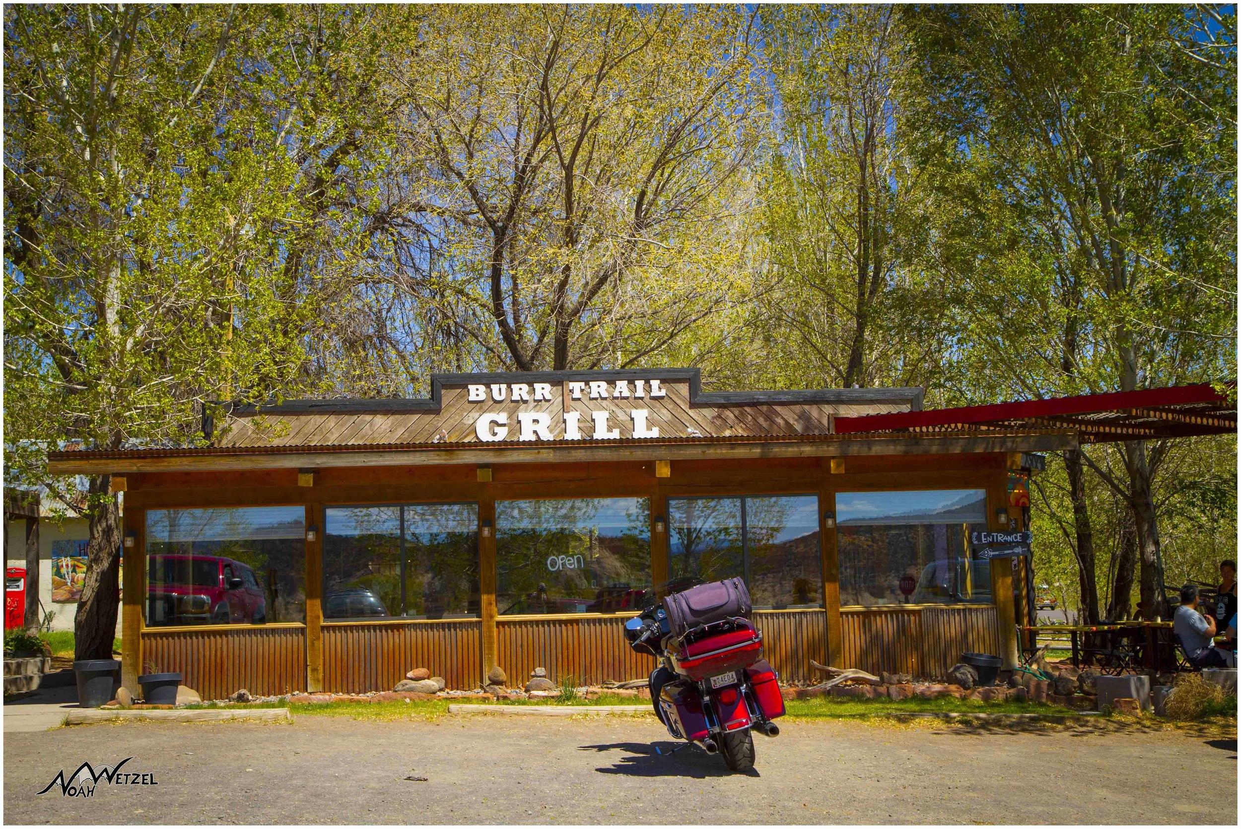 Burr Trail Grill. Boulder, Utah