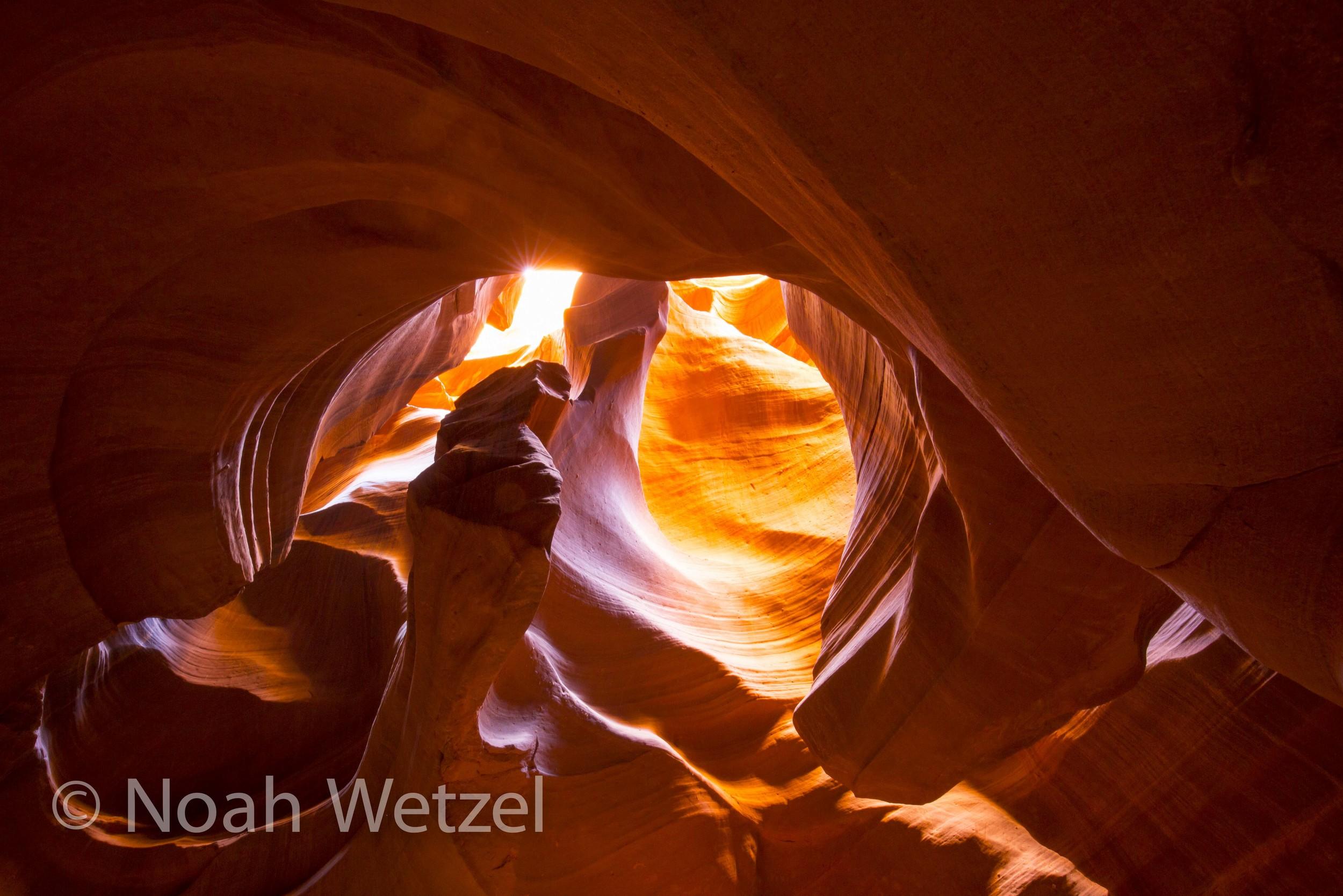 Upper Antelope Canyon. Page, Arizona