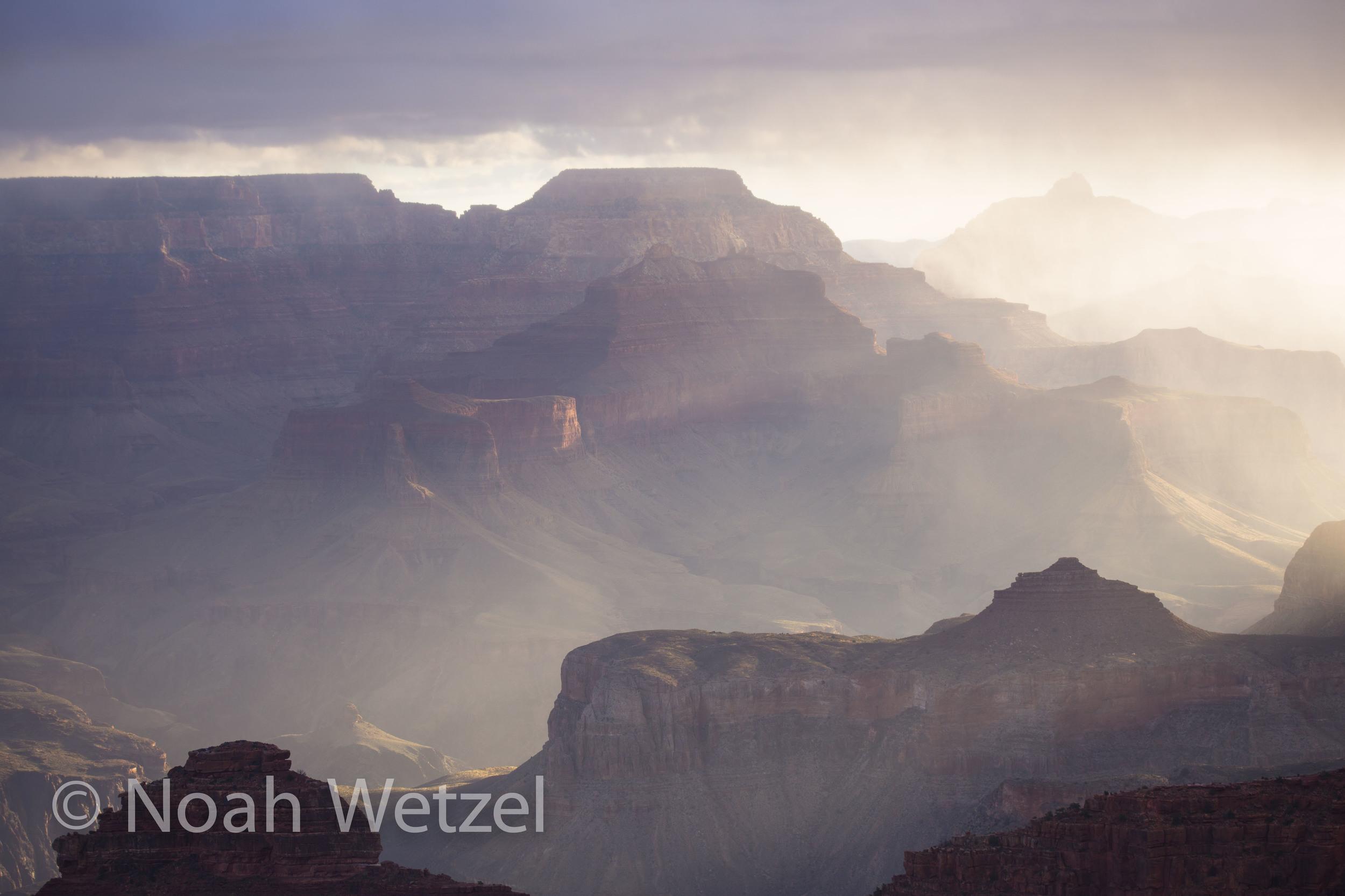 Grand Canyon National Park Lightshow, Arizona