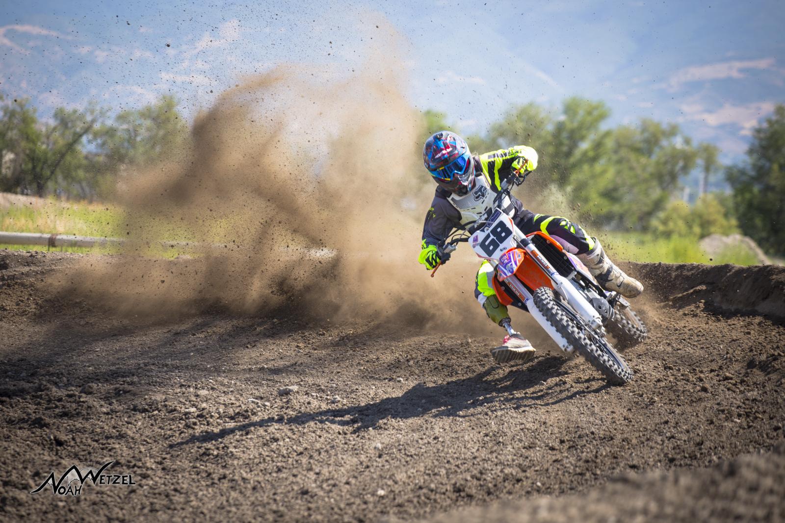 Kolleen Conger. Jordan OHV Track, Utah