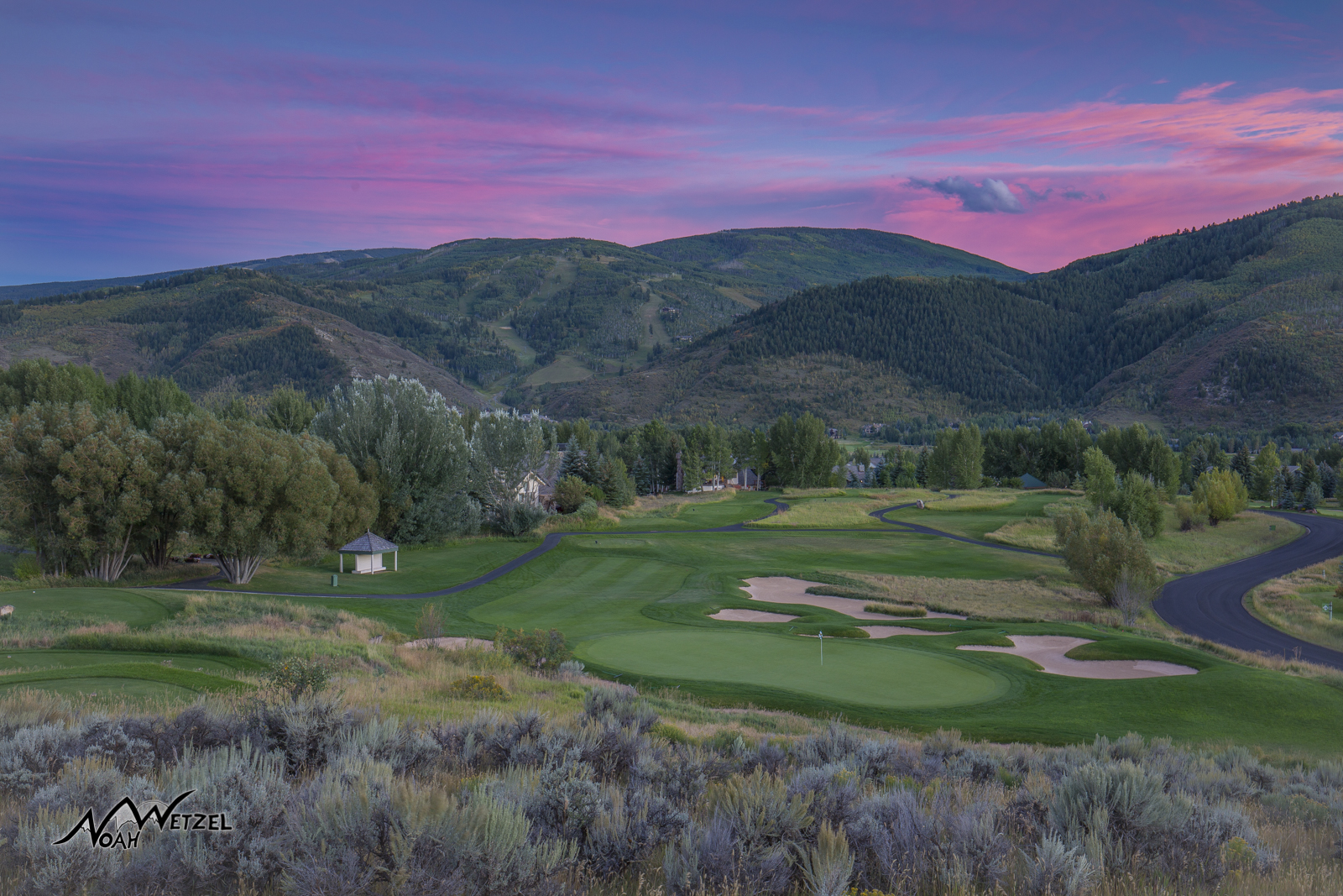 Hole 17. Sonnenalp Club. Vail Colorado