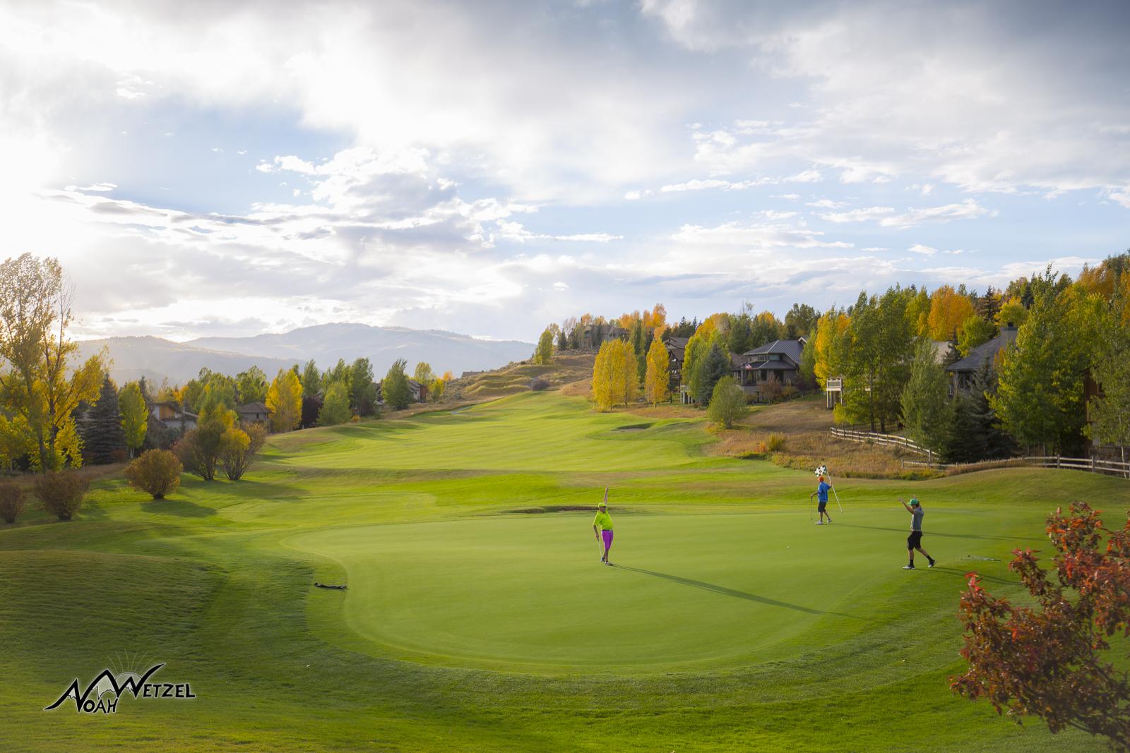 Hole 16. Sonnenalp Club. Vail Colorado