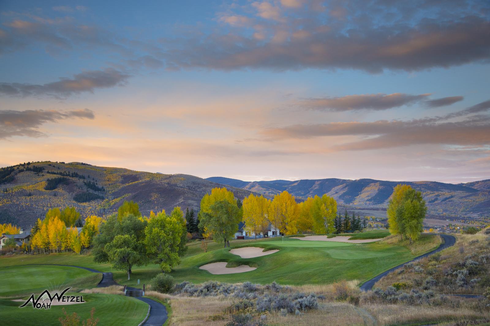 Hole 14. Sonnenalp Club. Vail Colorado