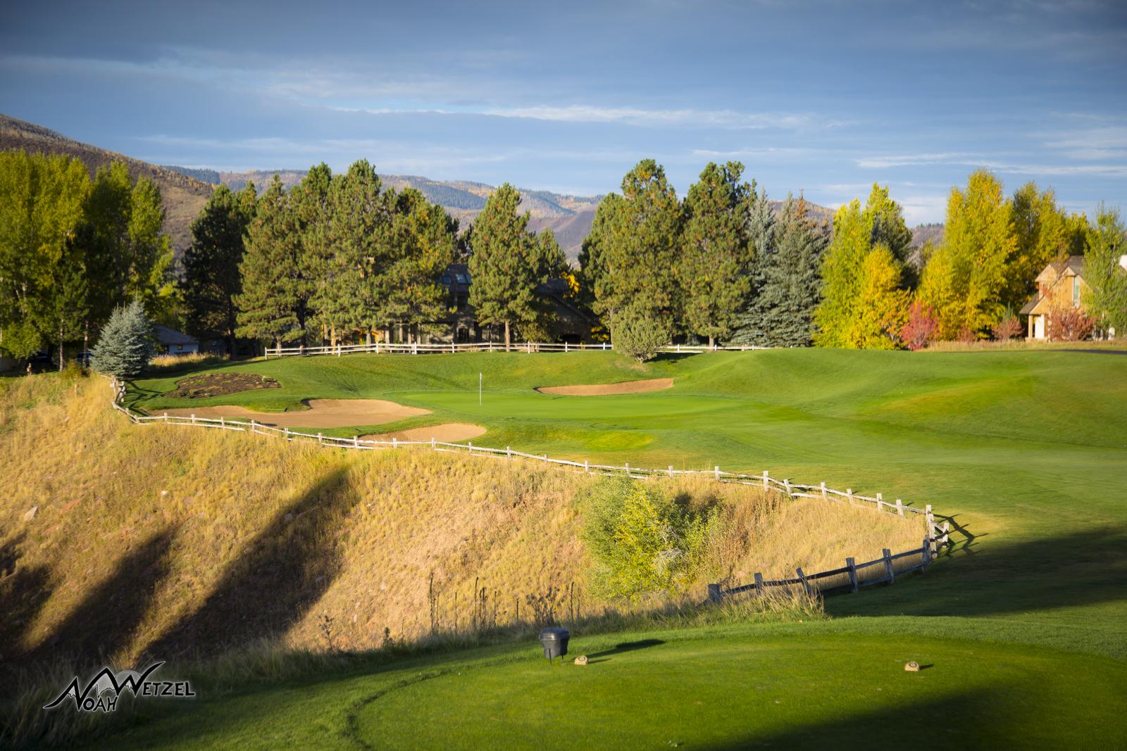 Hole 2. Sonnenalp Club. Vail Colorado