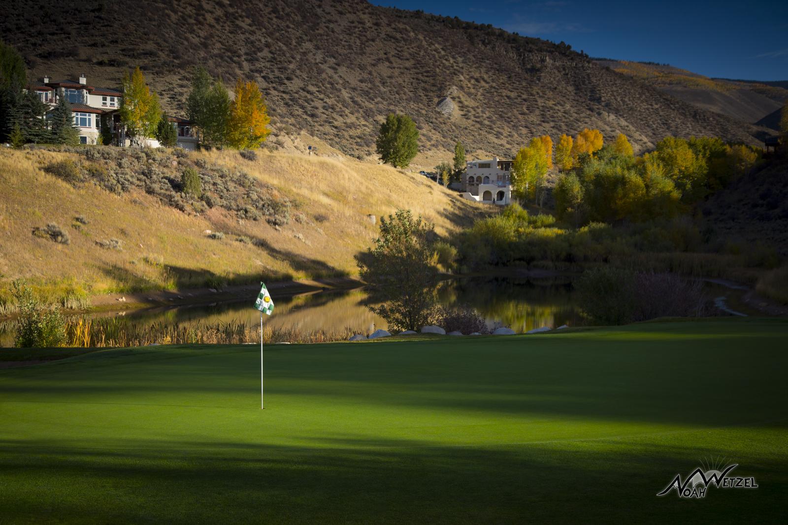 Hole 1. Sonnenalp Club. Vail Colorado