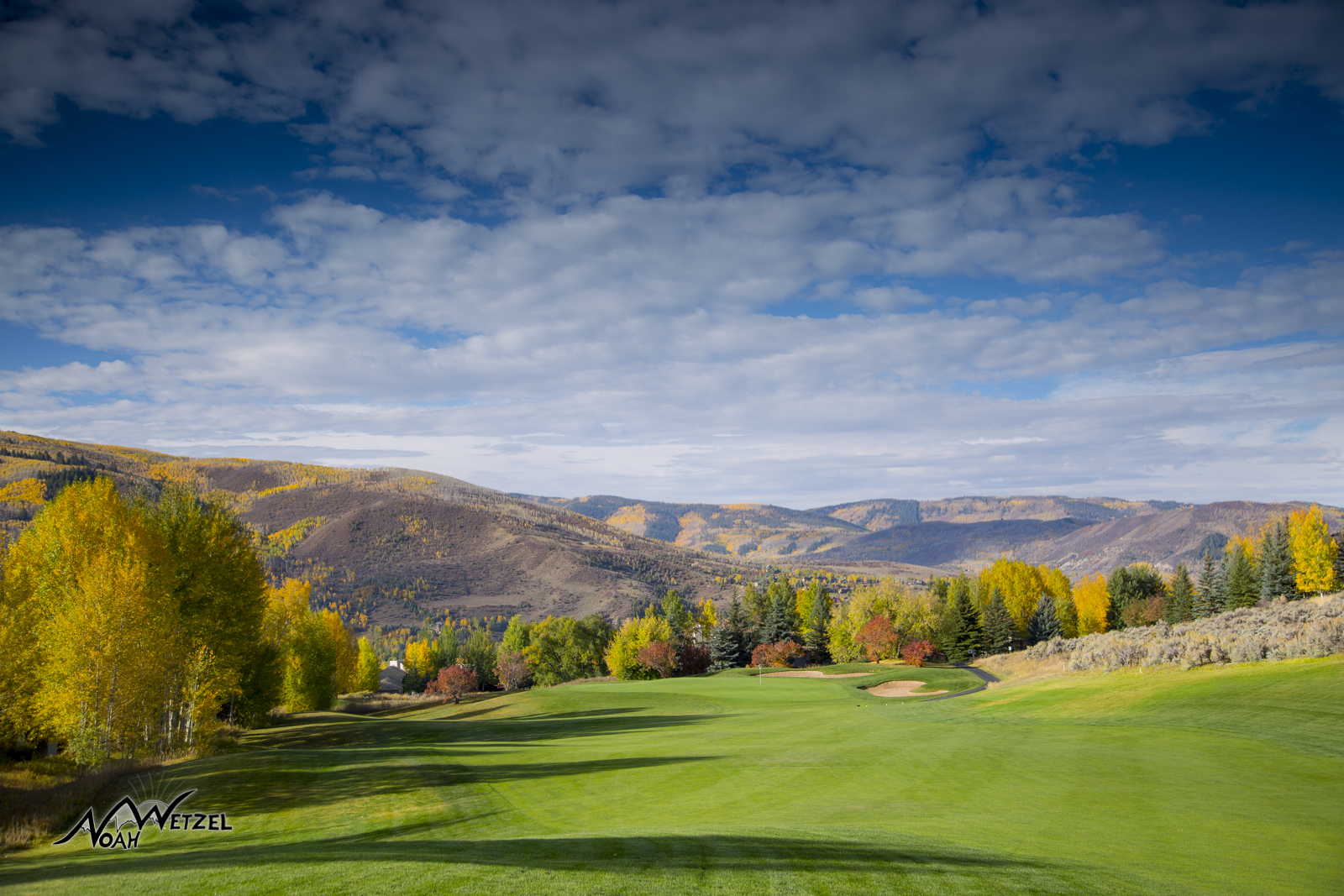 Hole 11. Sonnenalp Club. Vail Colorado