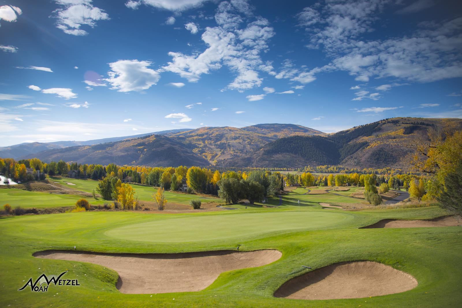 Hole 12. Sonnenalp Club. Vail Colorado