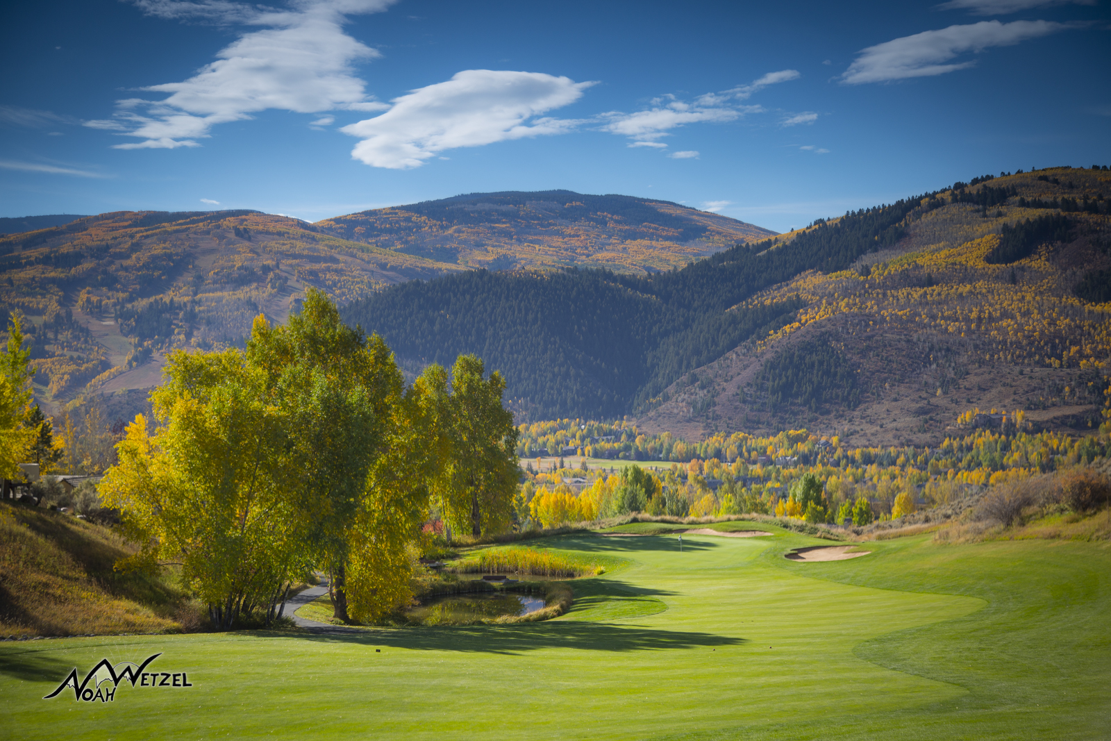 Hole 15. Sonnenalp Club. Vail Colorado