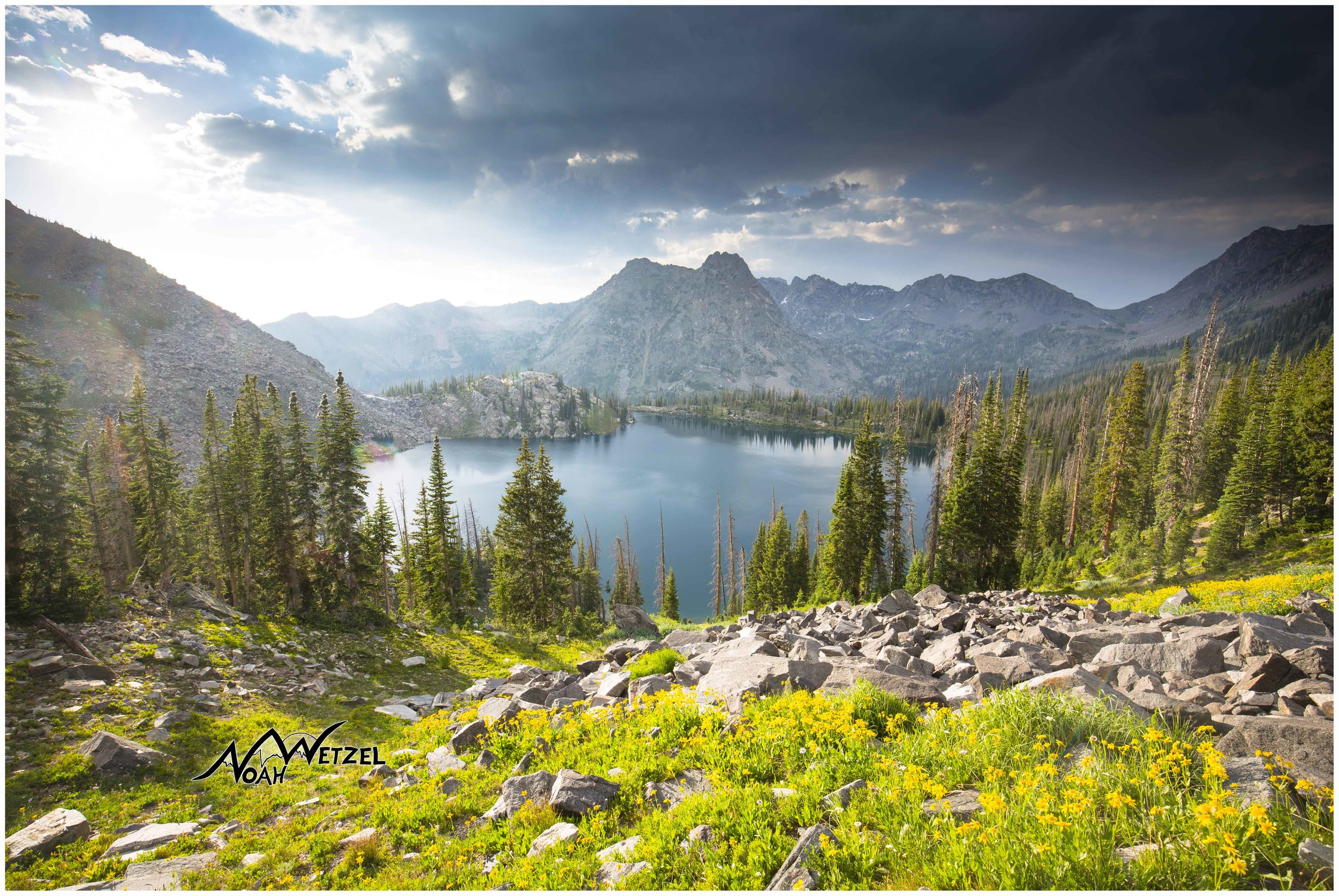 GILPIN LAKE in the Mount Zirkel Wilderness