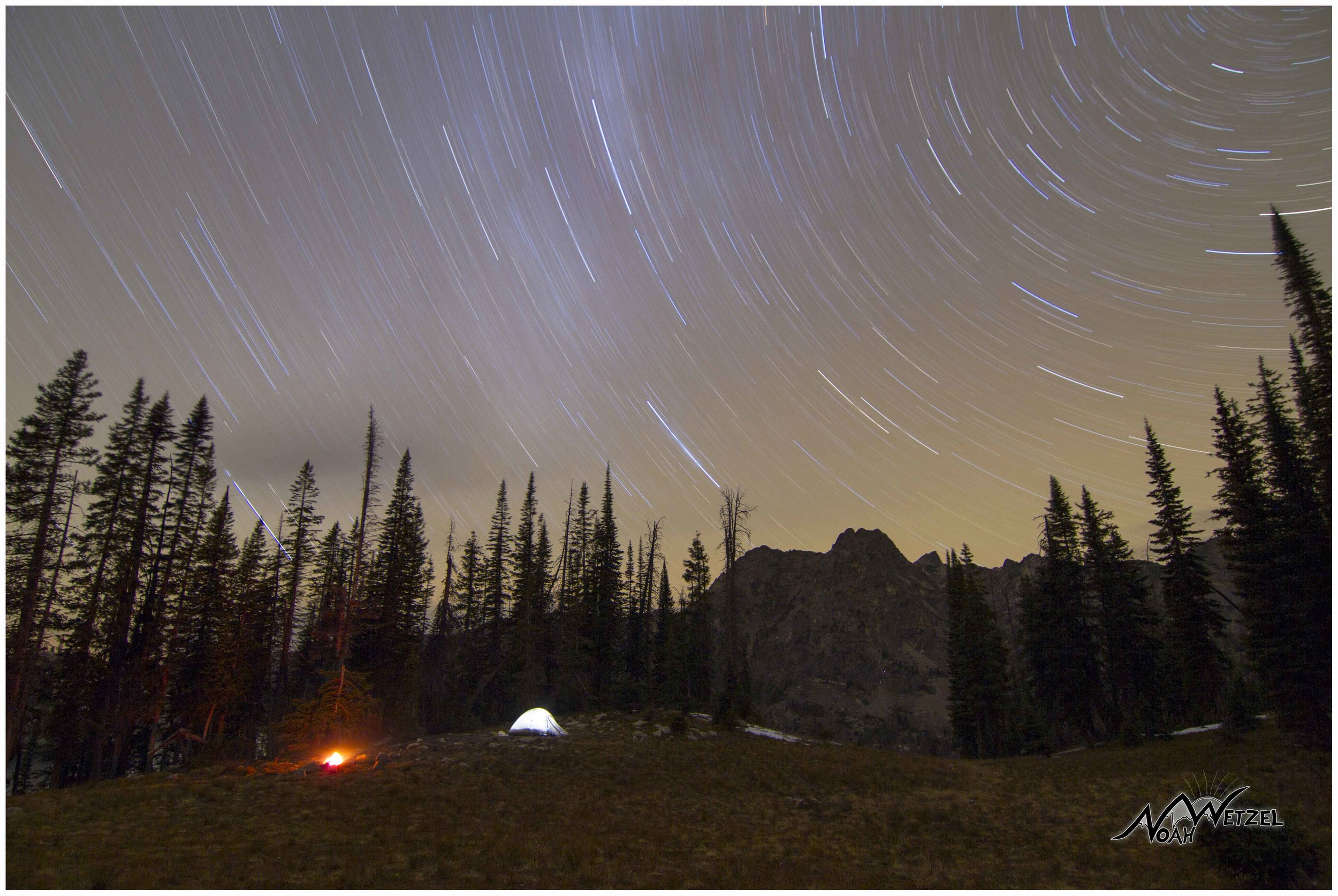 Camping above Gilpin Lake in the Mount Zirkel Wilderness