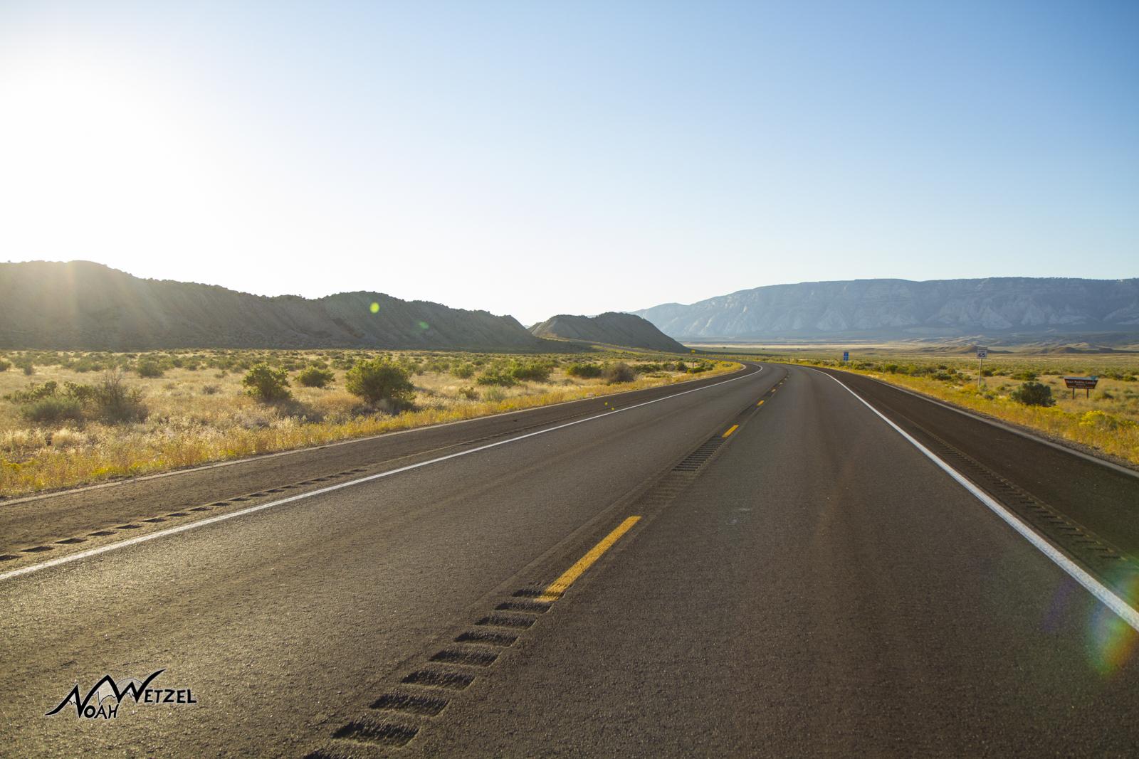 Hwy 40. Colorado/Utah Border