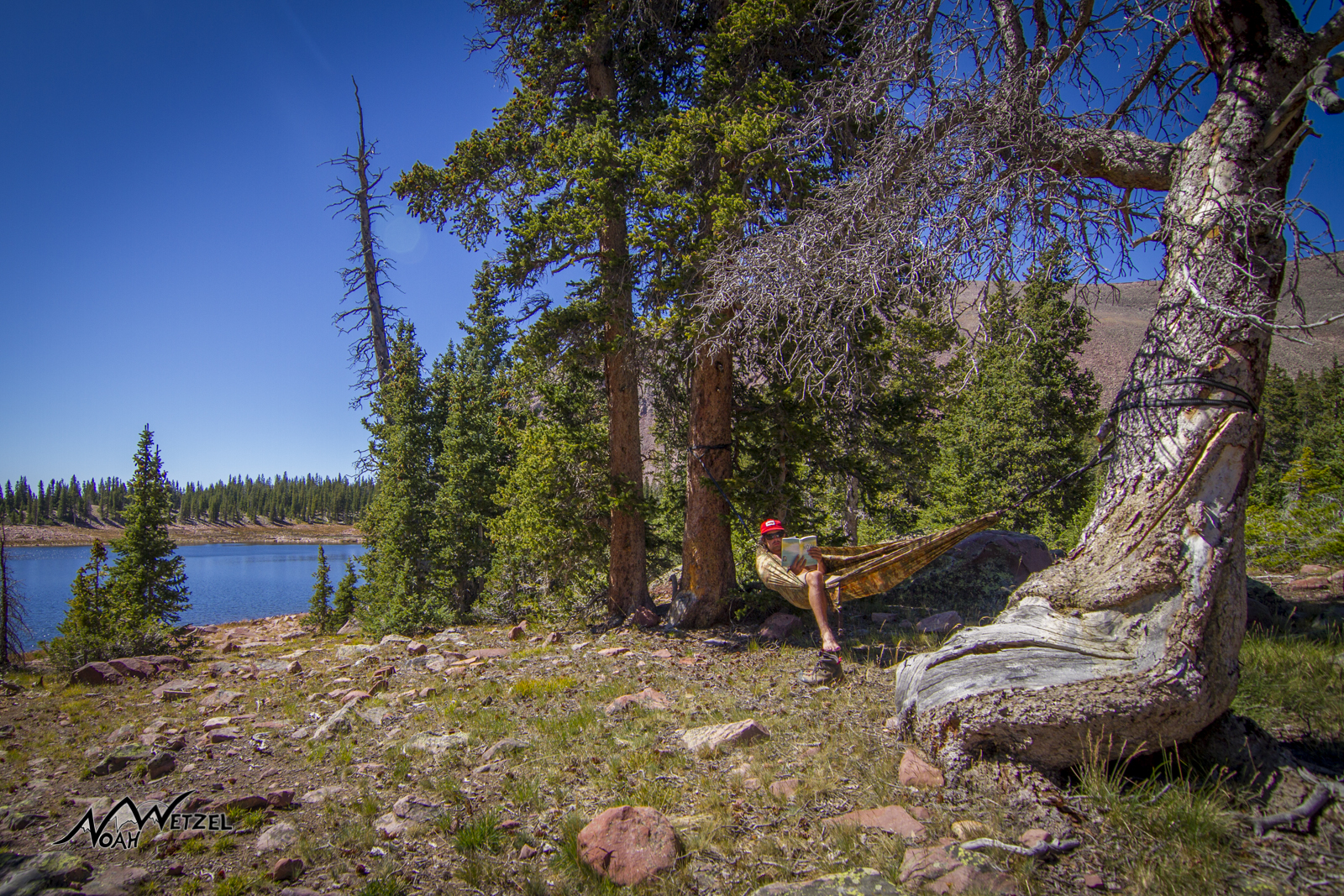 East Timothy Lake. High Uintas Wilderness, Utah