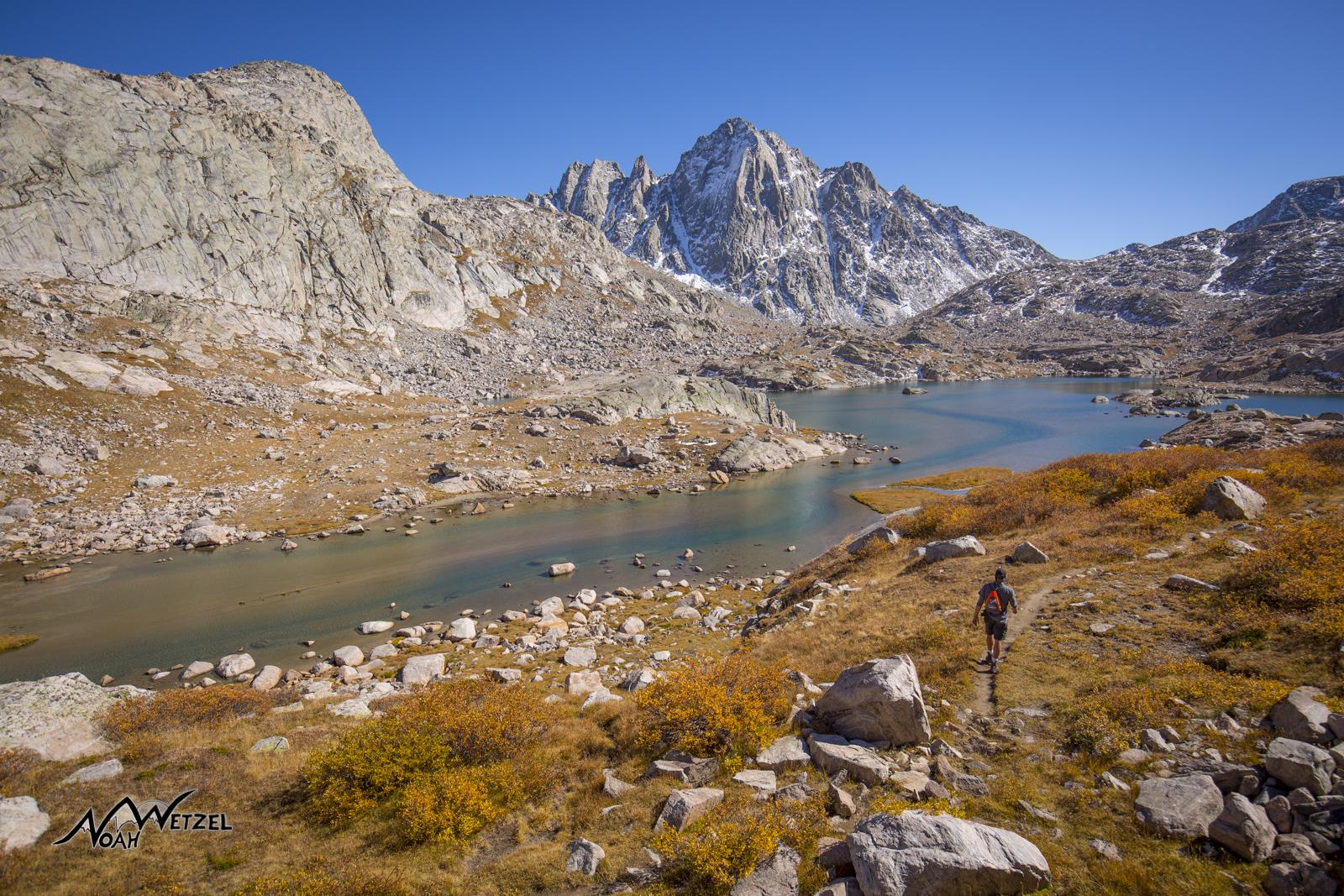 Indian Basin. Wind River Range. Wyoming