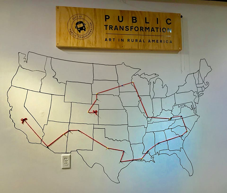 """Public Transformation celebrates & contemplates art in rural America,""  Creative Exchange, October 2017"
