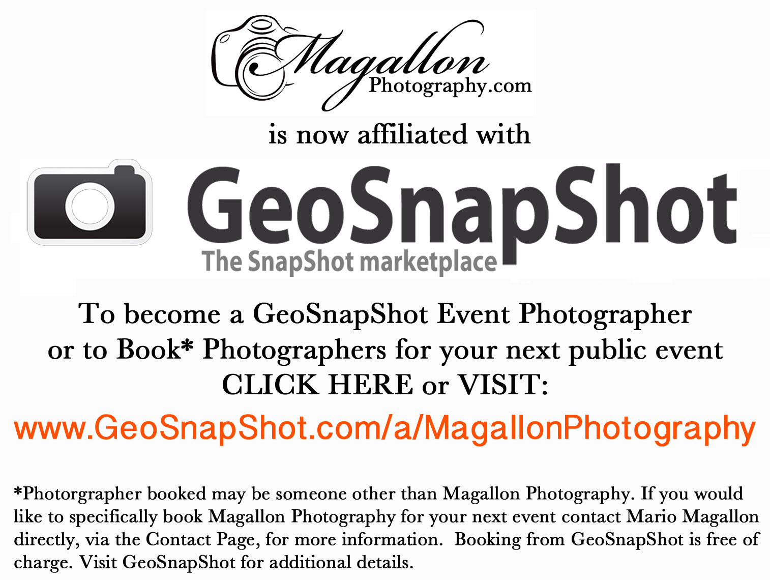 GeoSnapShot & Magallon Photography