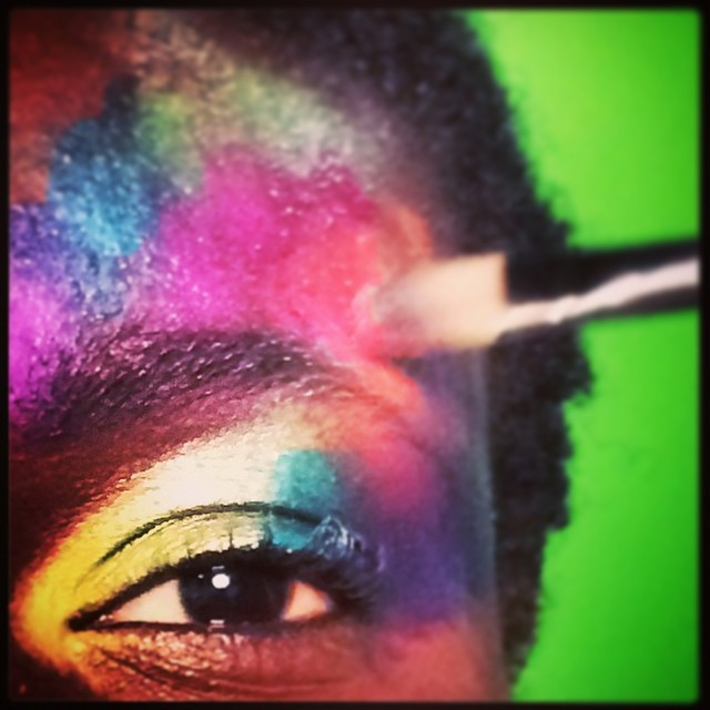 give me colour.... #BTS #garycockerill #beautyphotographer #123lighting #shoreditchstudios