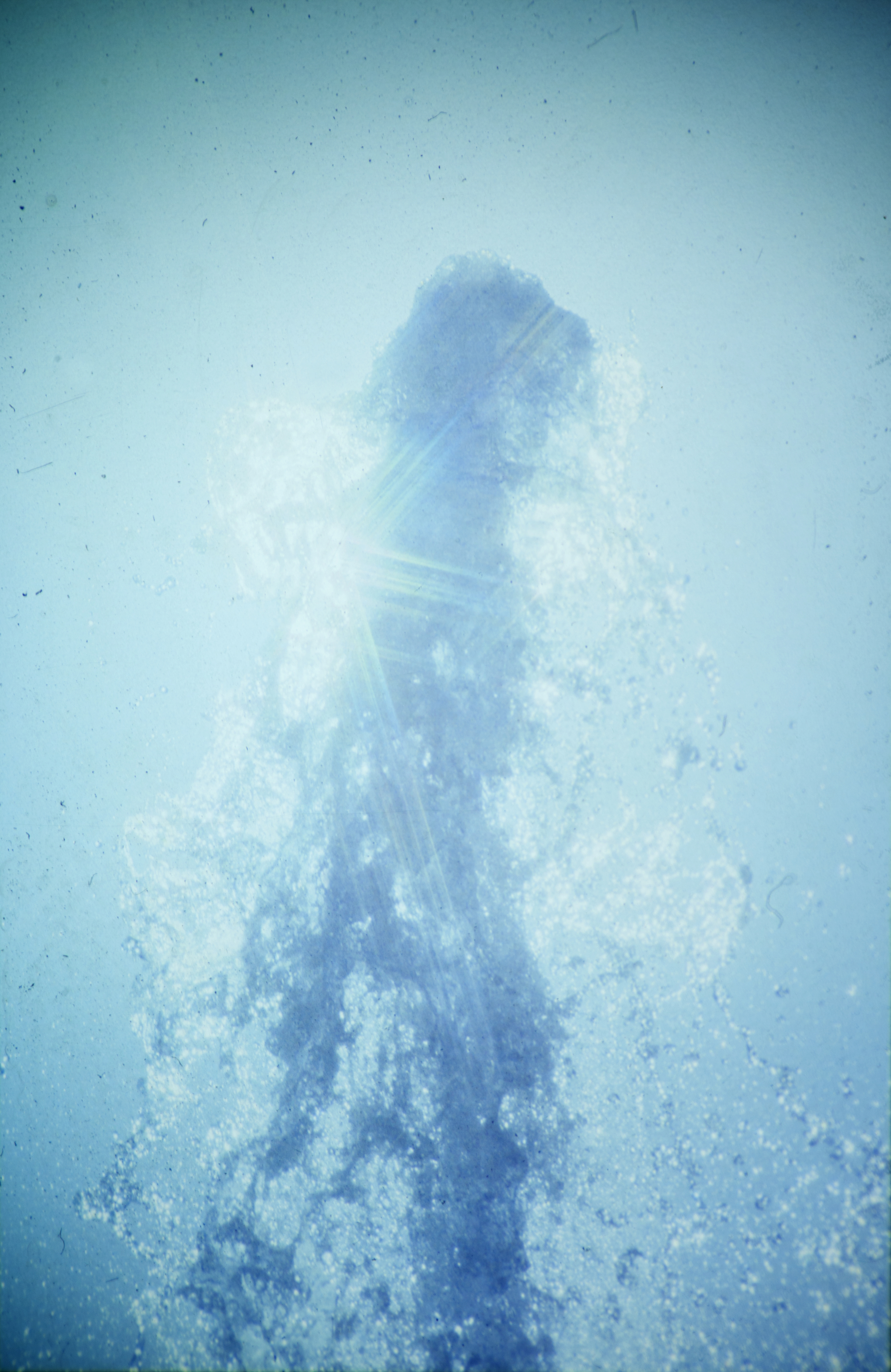 Water nymph  Collaboration with Oliver Leach Analog projection / C-print, dimensions variable, 2014
