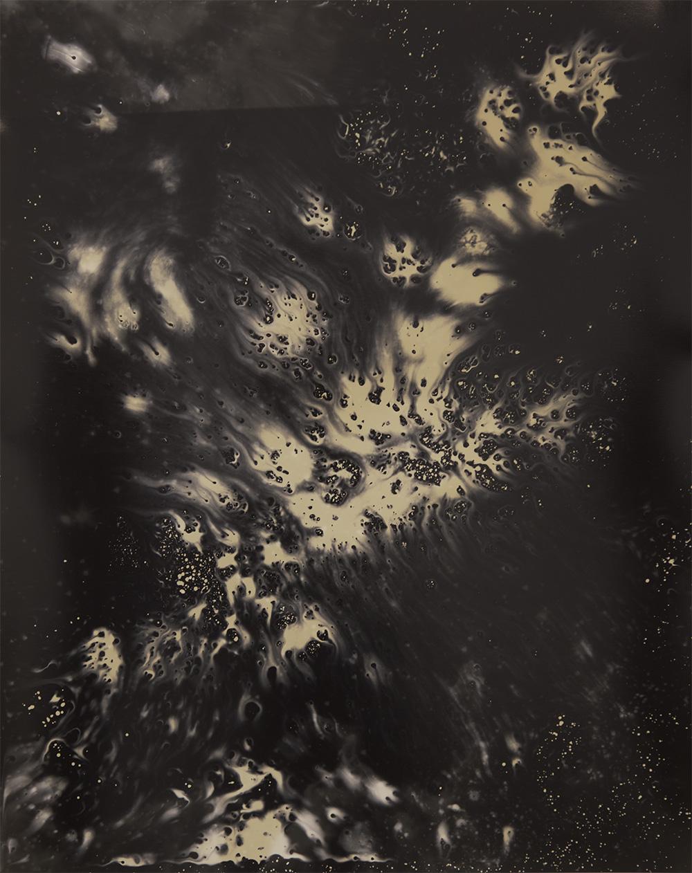 "Lava flow , Gelatin silver print, 20x16"", 2016"