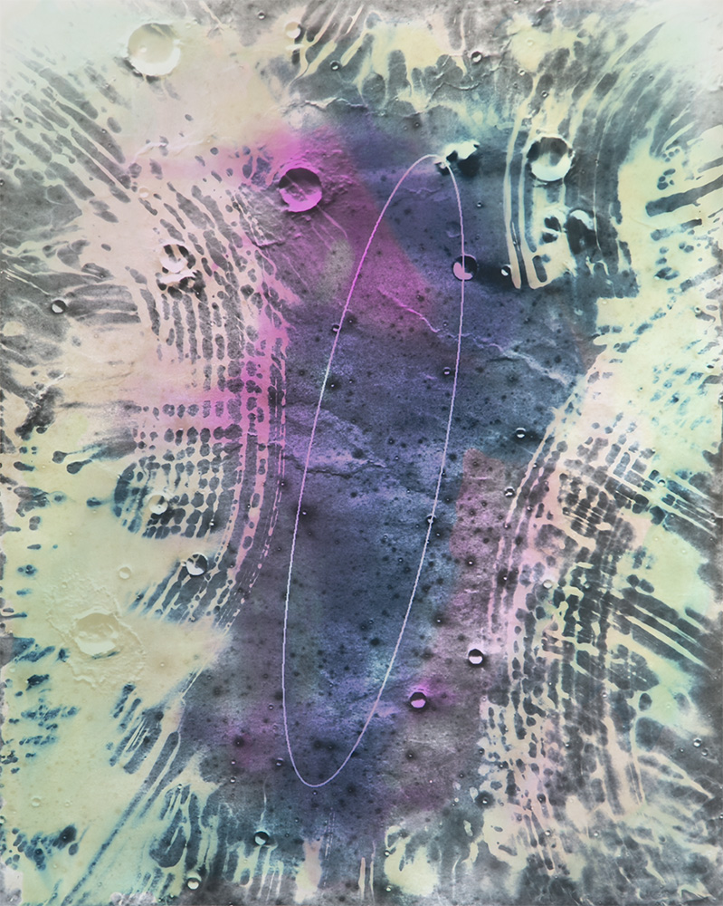 "Moonwalk , Gelatin silver print, 20x16"", 2017"