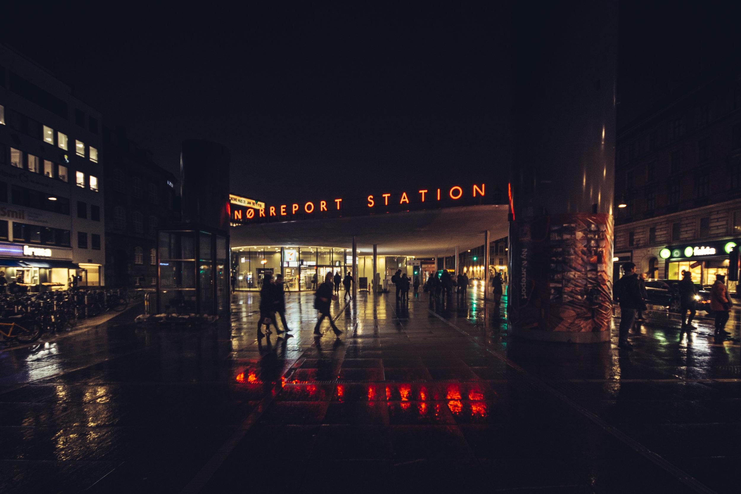 Nørreport by Night