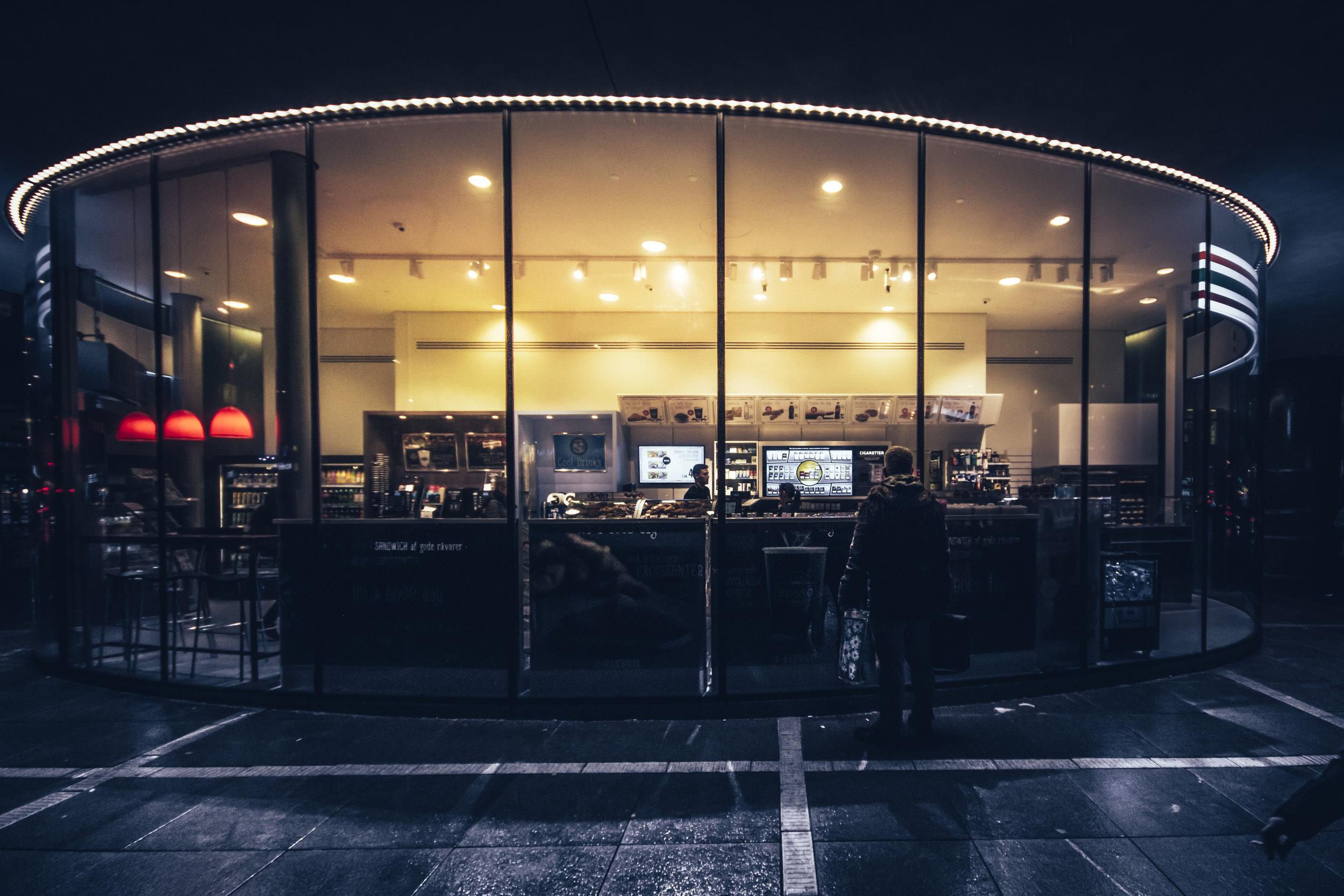 Nighttime Shopping