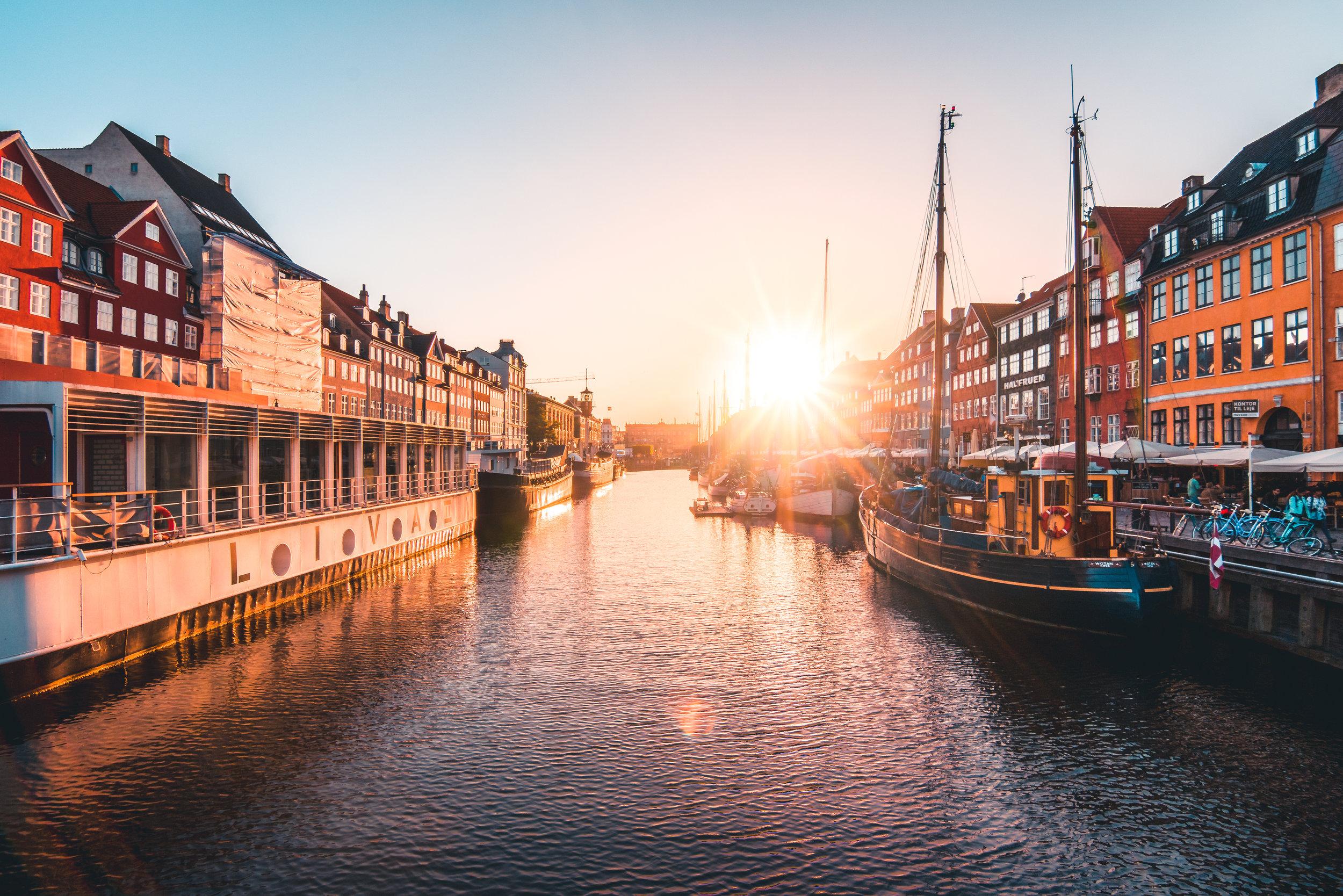 Evening in Nyhavn