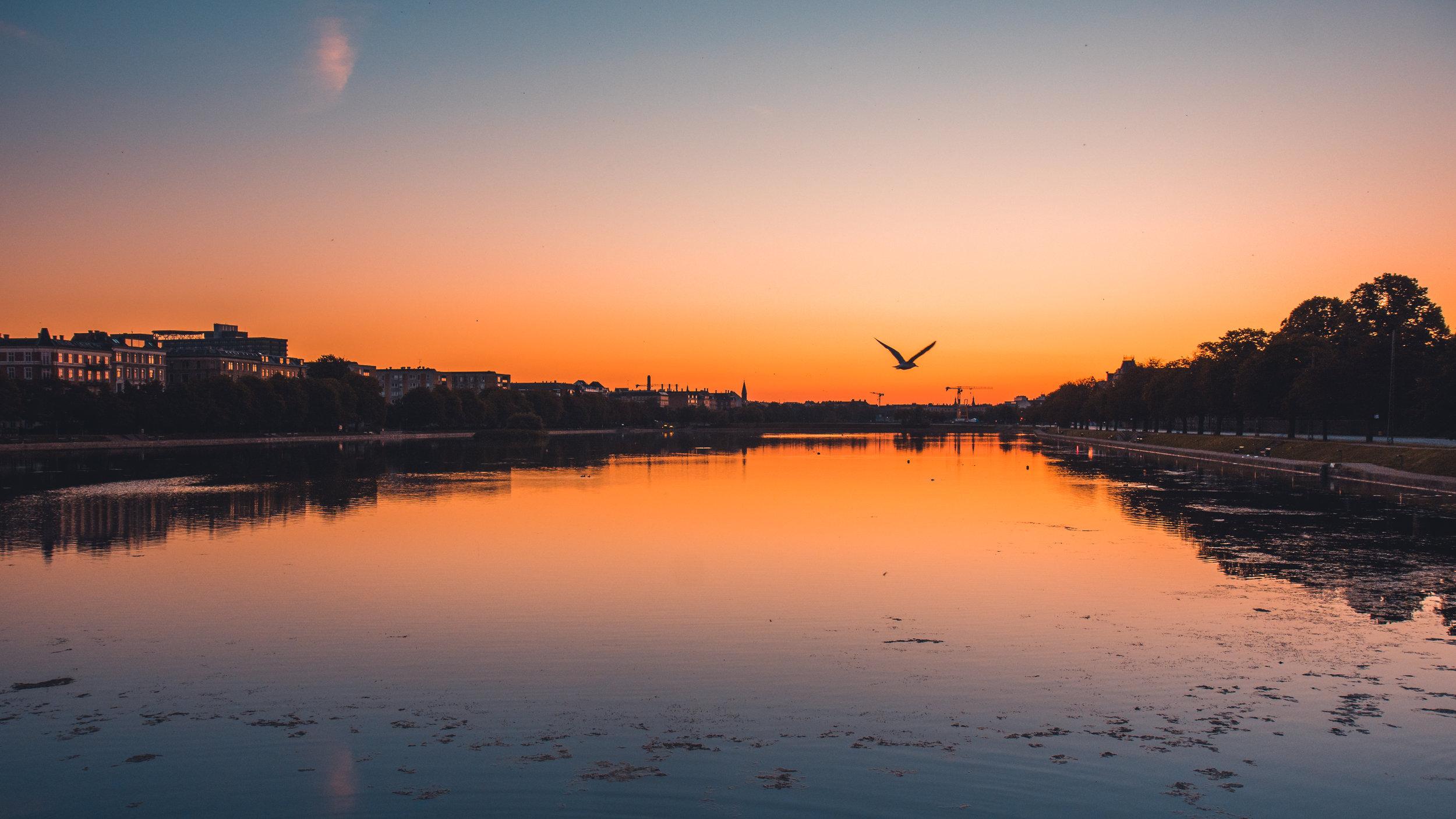 Sunrise over the Lakes
