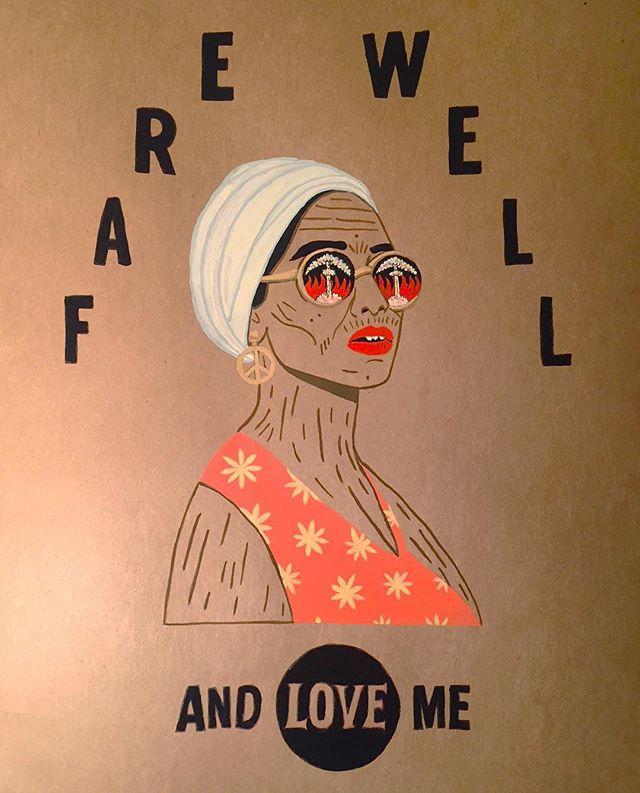 Farewell and love me. . . . . . #illustration #drawing #art #artist#illustrator #artoftheday #draw #sketch#sketchbook #instart #inktober#inktober2018 #karlmaxx #follow #graphic #gouache