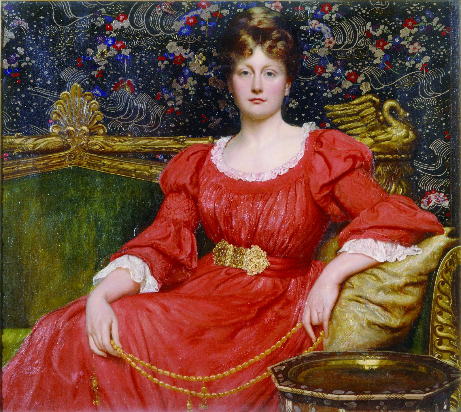 Mrs Luke Ionides, 1882