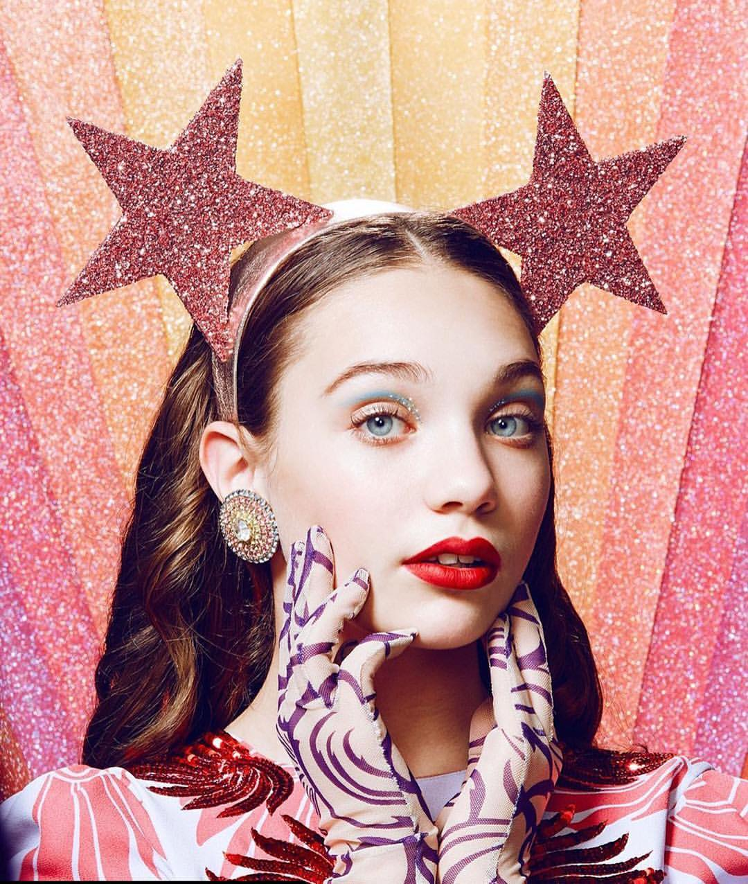 Singer Sia's mini dancer Maddie Ziegler in Suga Pink Stars in Paper Magazine's #YOUth issue