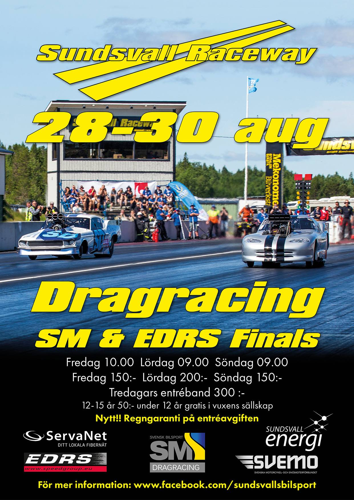 Dragracing Sundsvall 2015