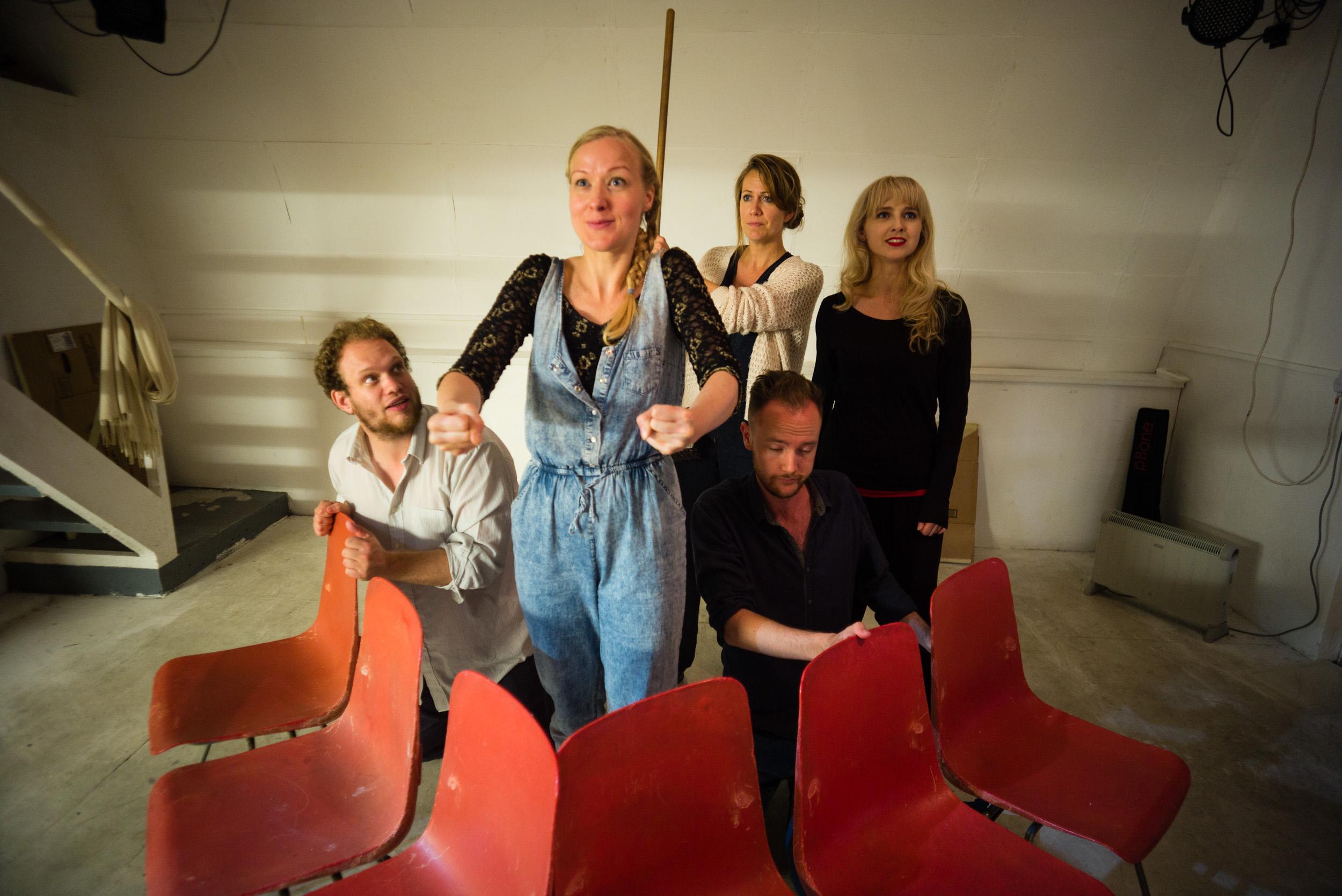 Ulla's Odyssey in Rehearsal