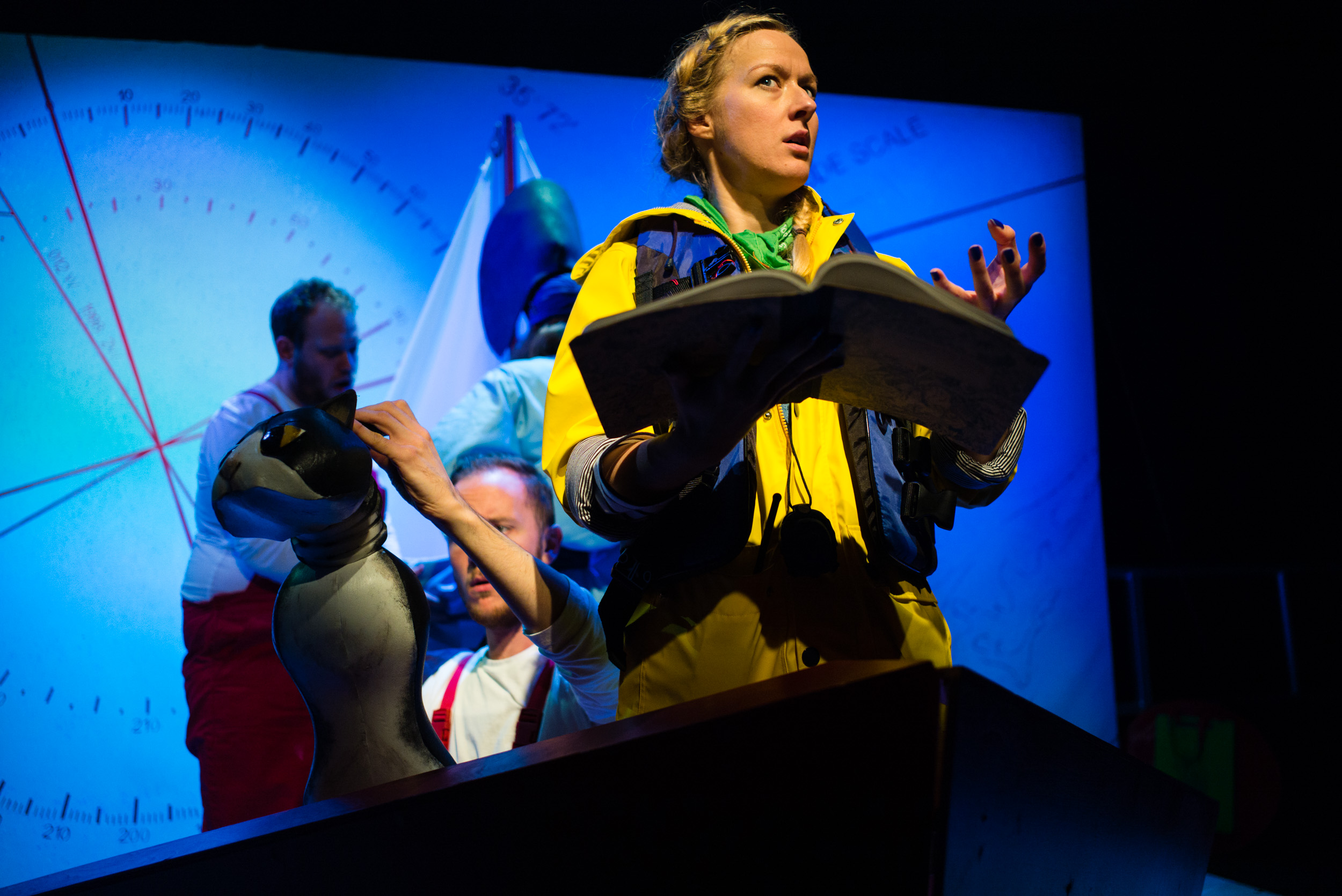 Ulla's Odyssey. OperaUpClose, Kings Place. Sarah Minns. Photo by Christopher Tribble.