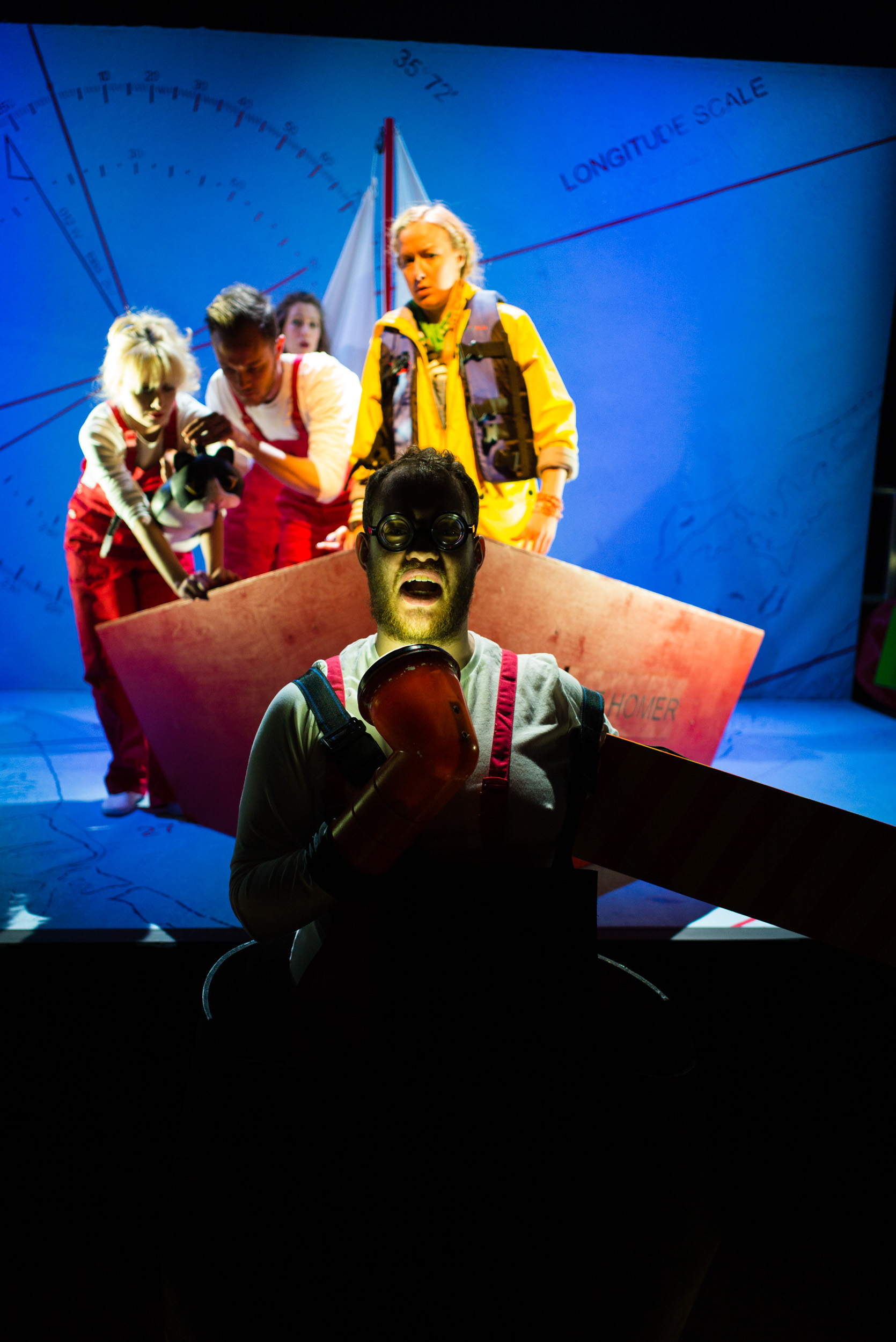 Ulla's Odyssey. OperaUpClose, Kings Place. Edward Hughes. Photo by Christopher Tribble.