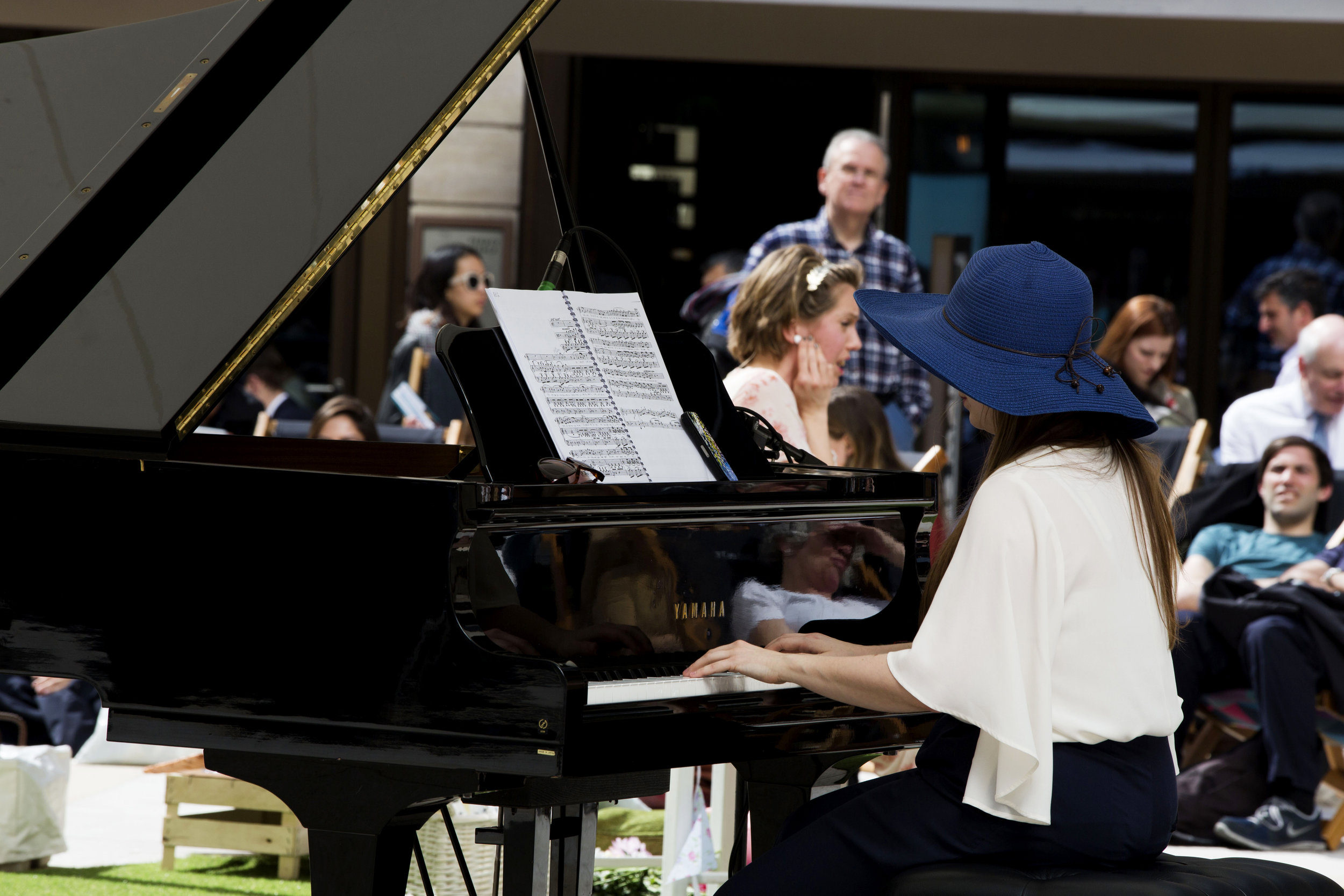 Music Oft Hath Such a Charm , Broadgate Circle Photo by Charlotte King
